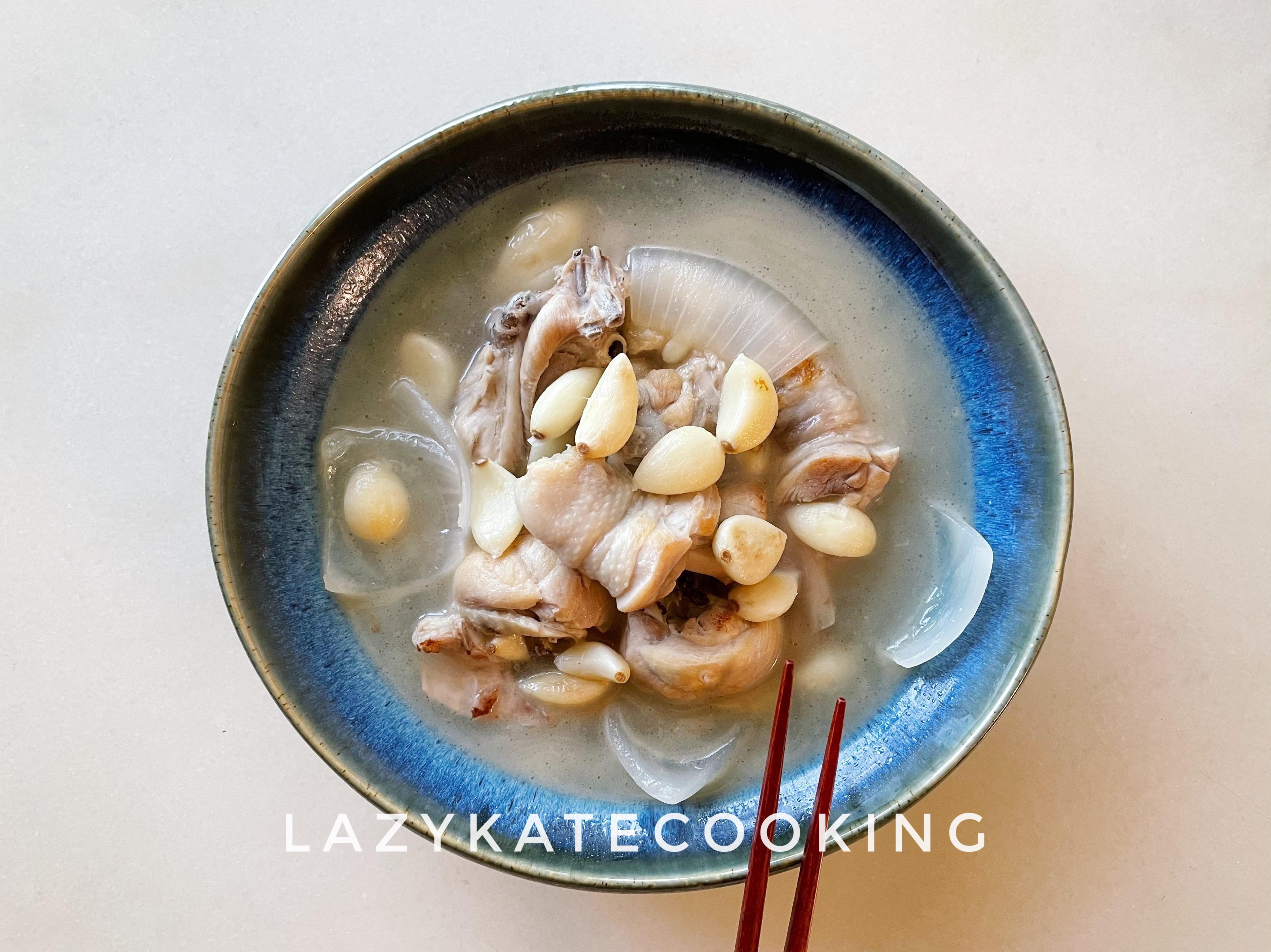 吃出抵抗力 濃郁系洋蔥蒜頭雞白湯