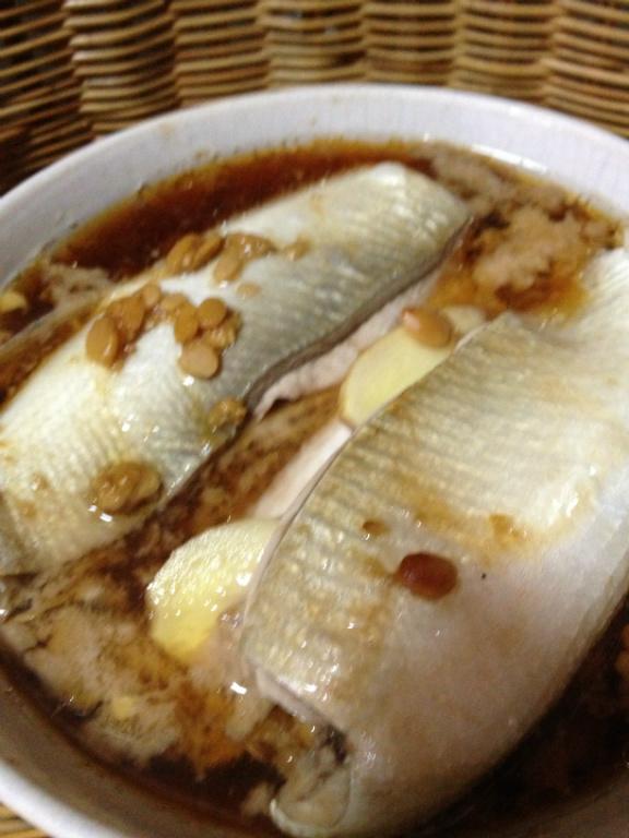 黃豆醬蒸虱目魚肚