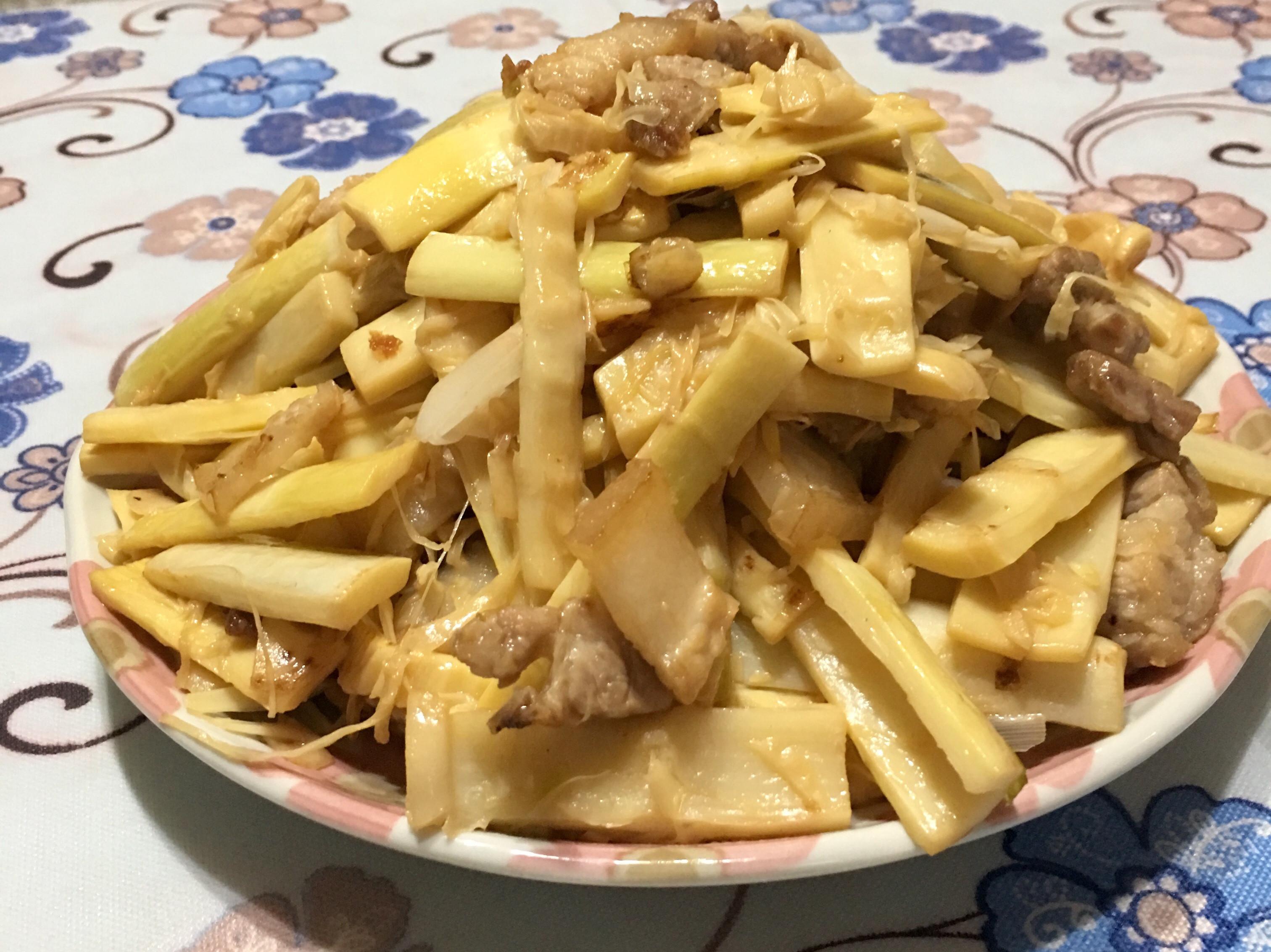 桂竹筍炒五花肉