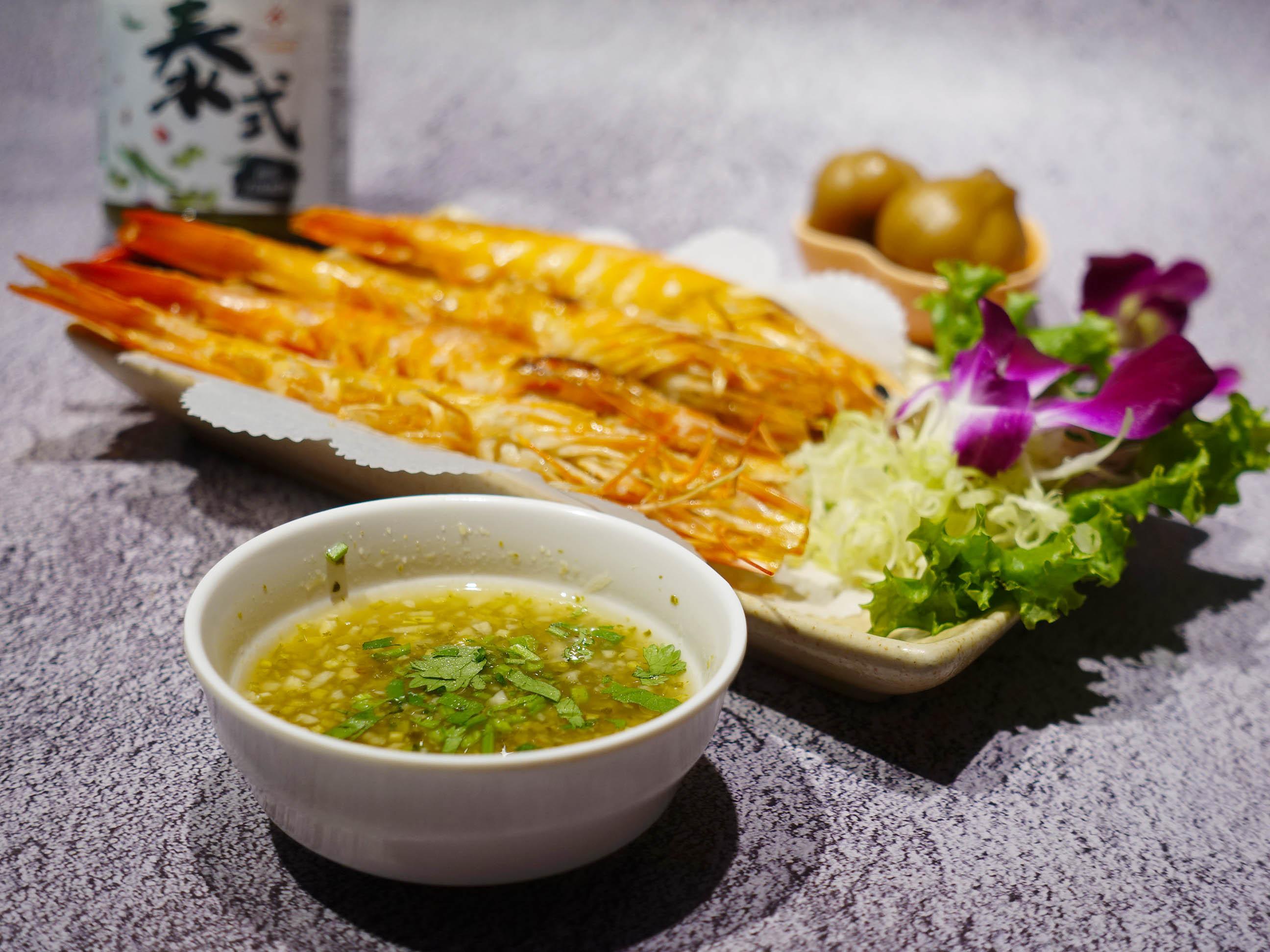 泰式檸檬蝦 (快速料理、檸檬青辣椒醬)