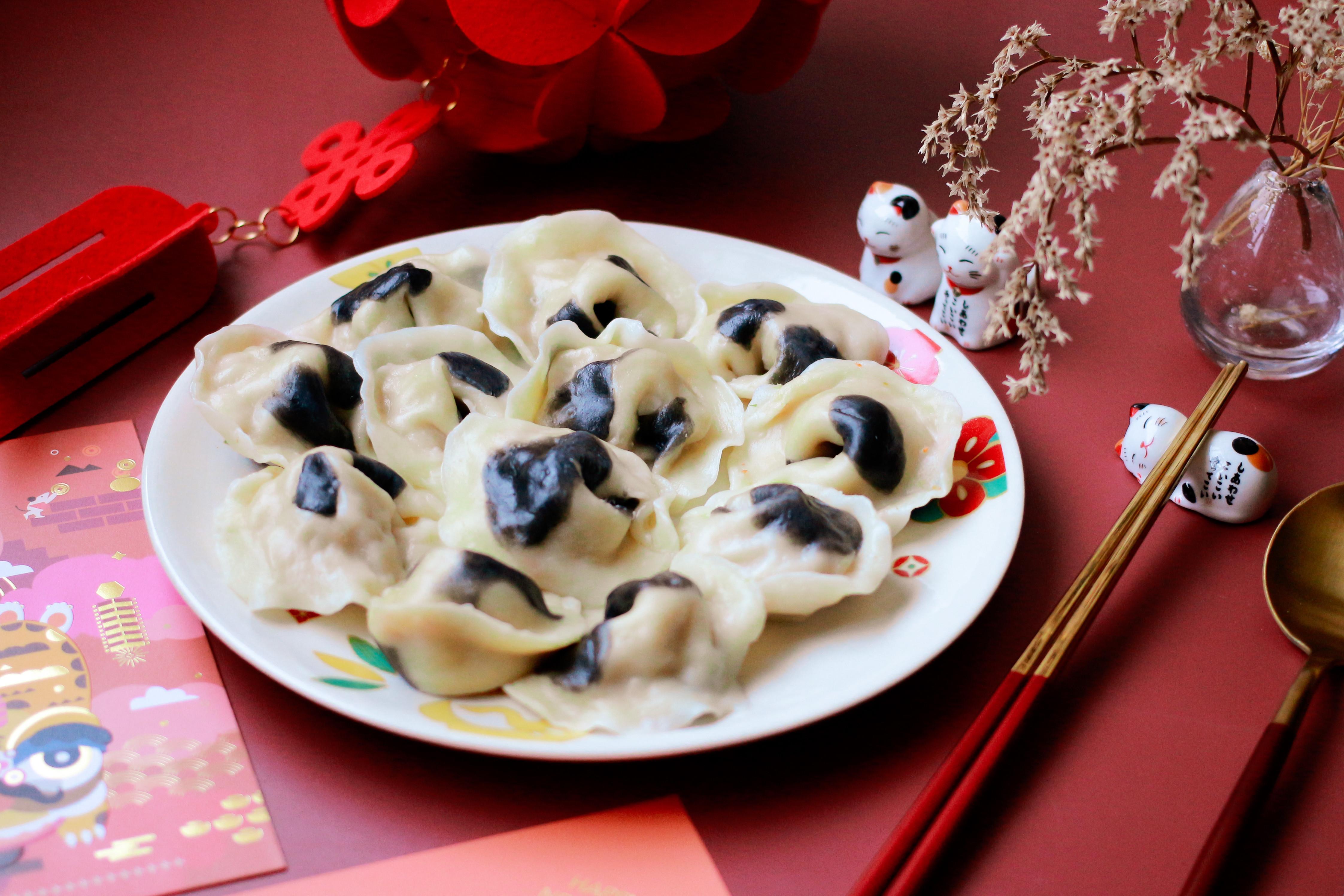年菜分享 HAPPY 牛餃子