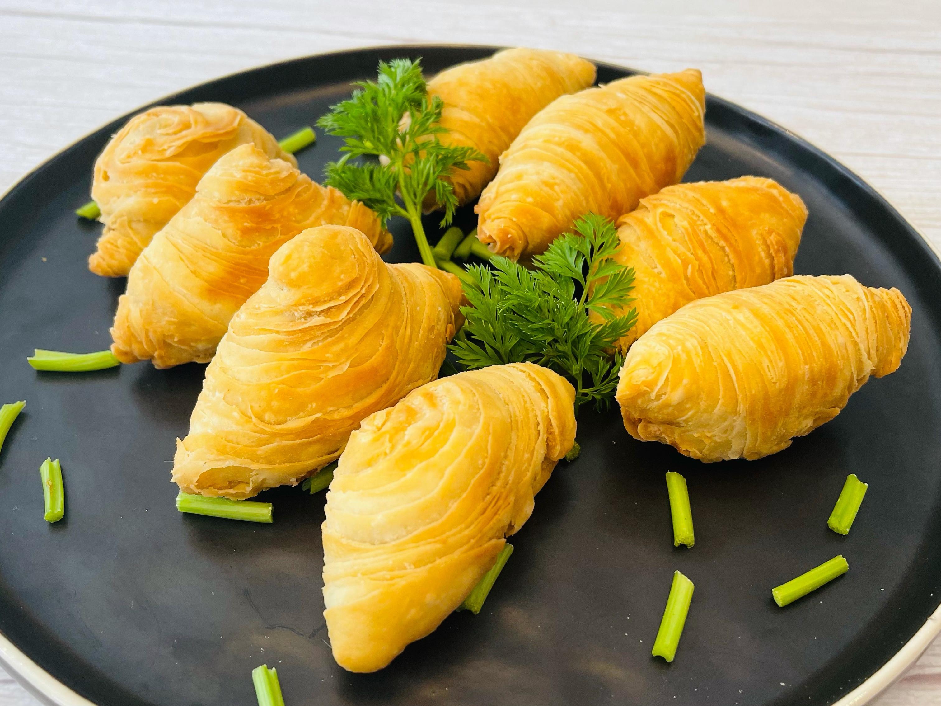 純素蘿蔔絲酥餅兩種包法!不用豬油一樣酥脆