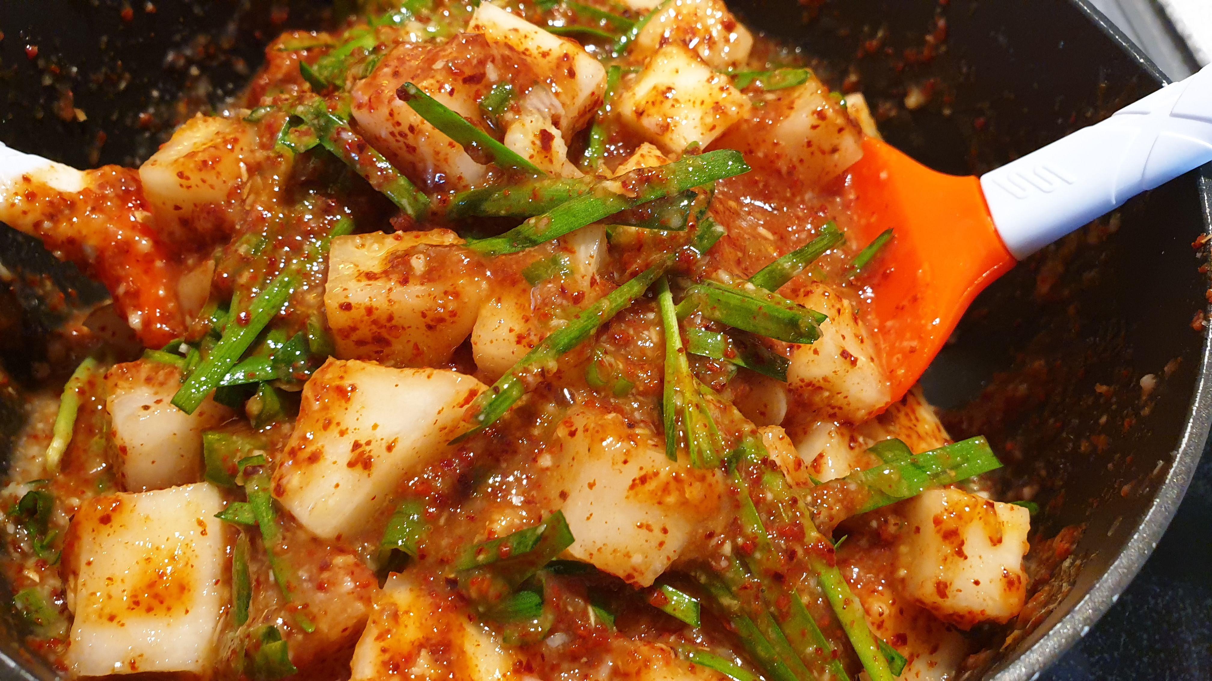 [泡菜🥗] 韓式醃蘿蔔
