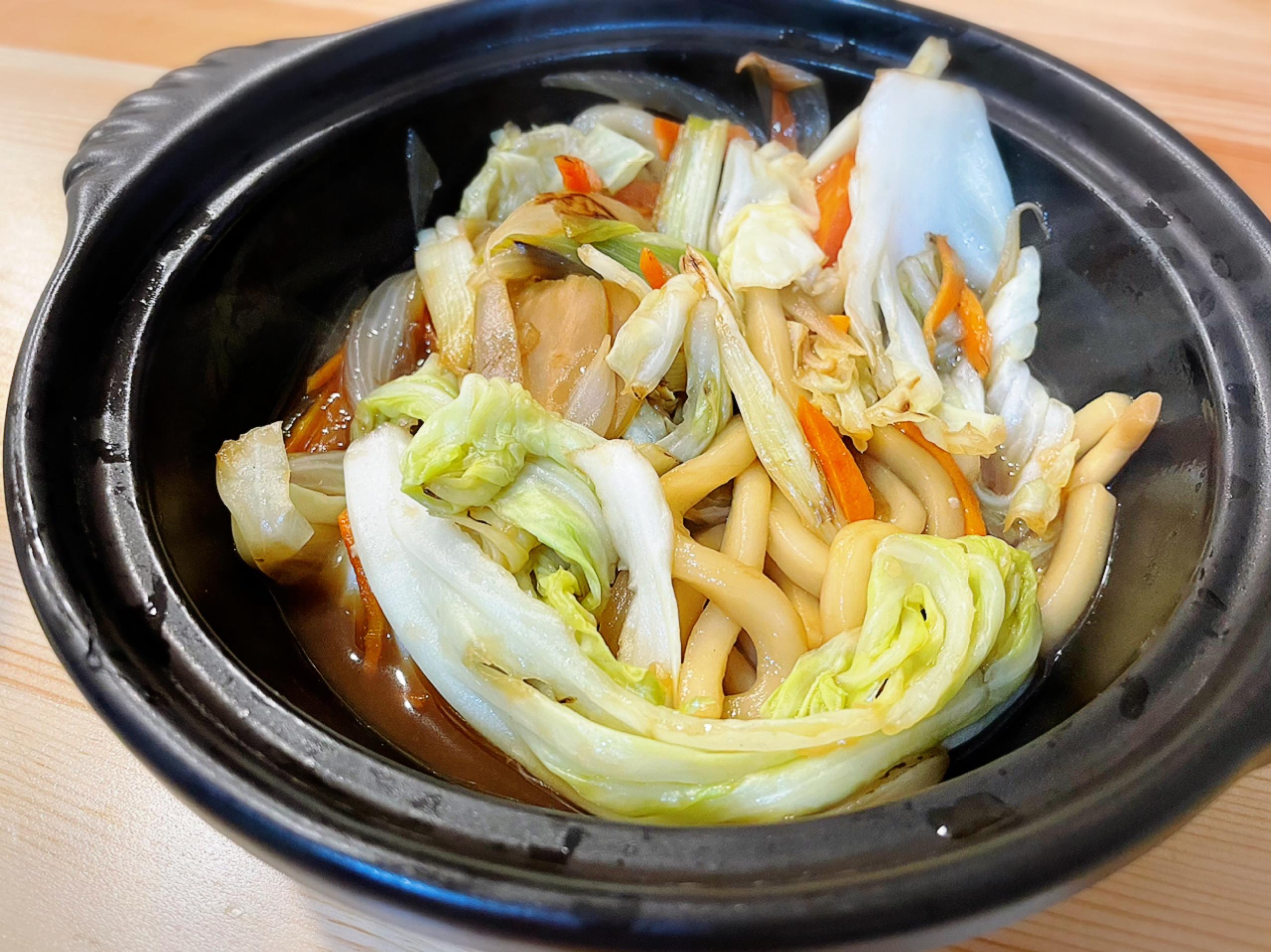 日式炒烏龍麵之醬汁過期給小孩吃剛好