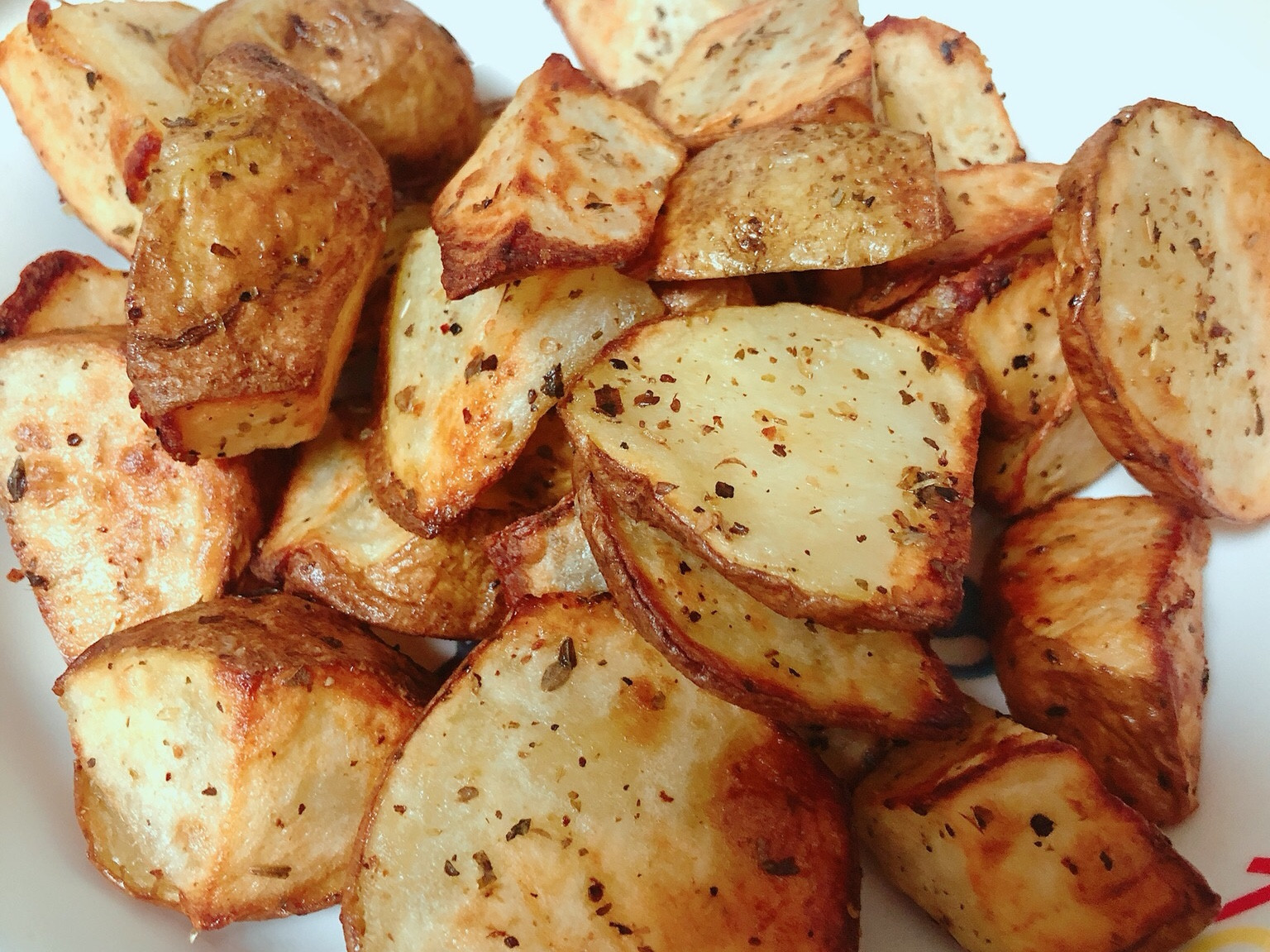氣炸鍋版烤馬鈴薯塊