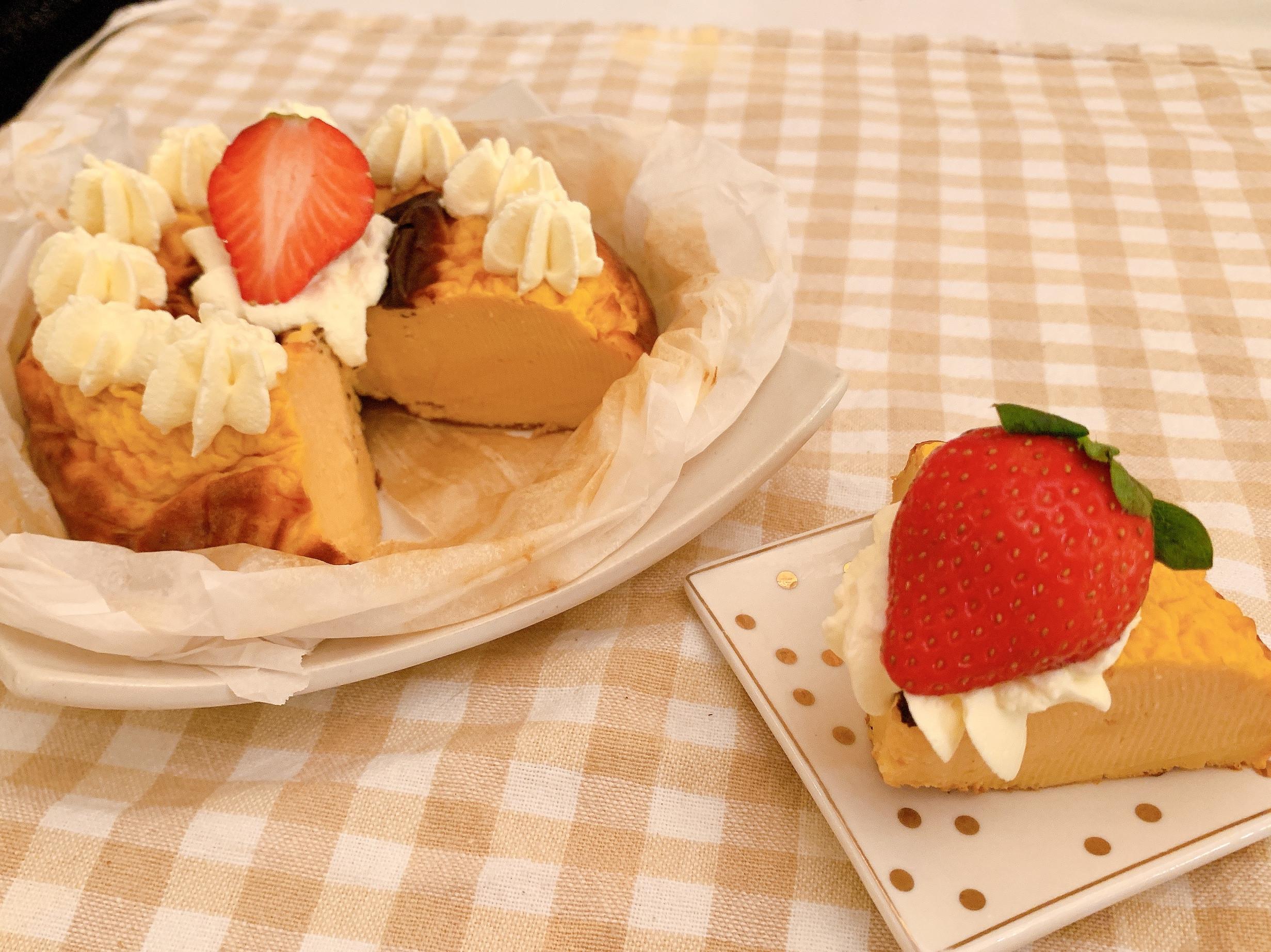 高蛋白草莓酸奶蛋糕(減醣版