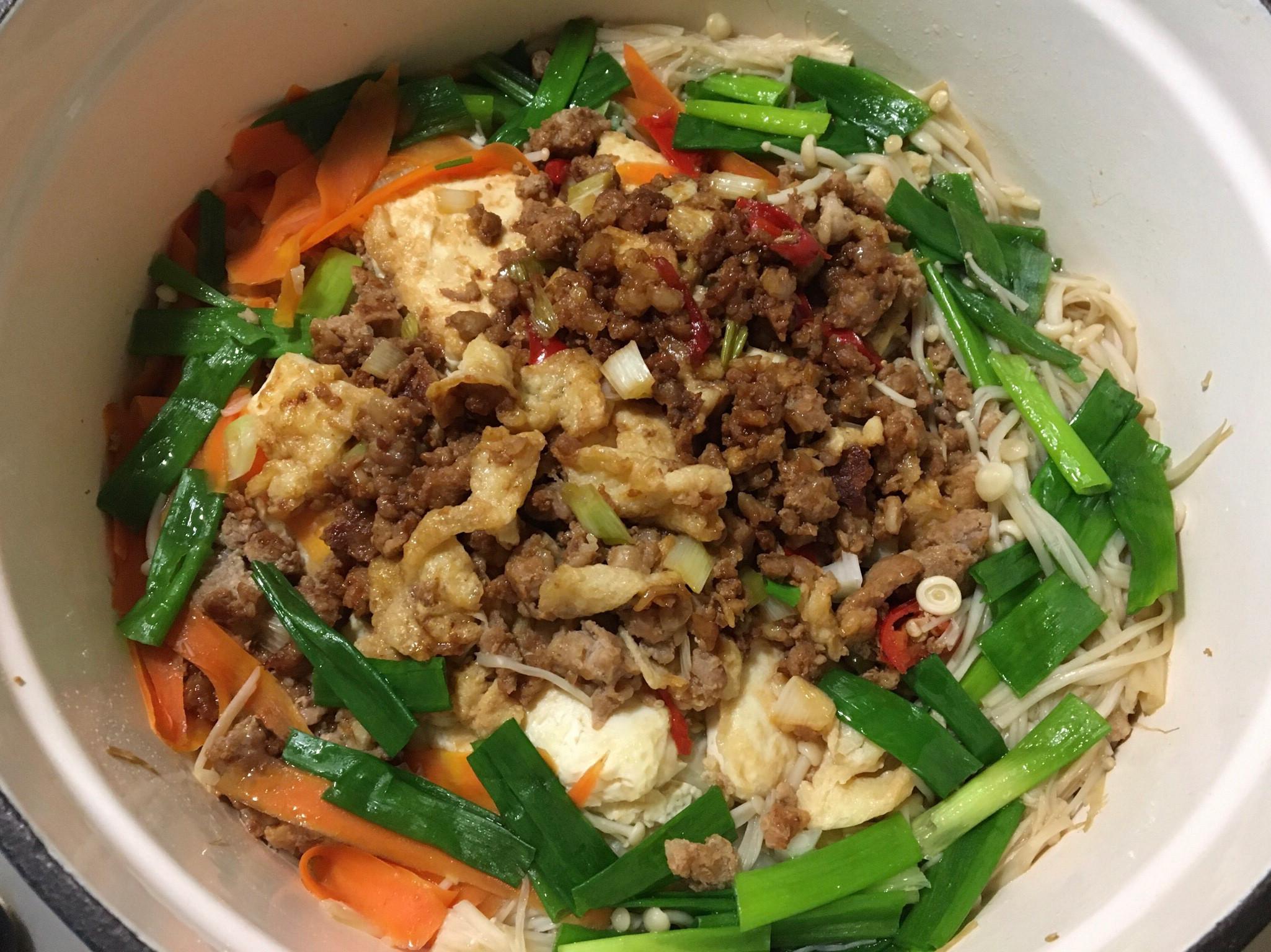 大白菜豆腐燒