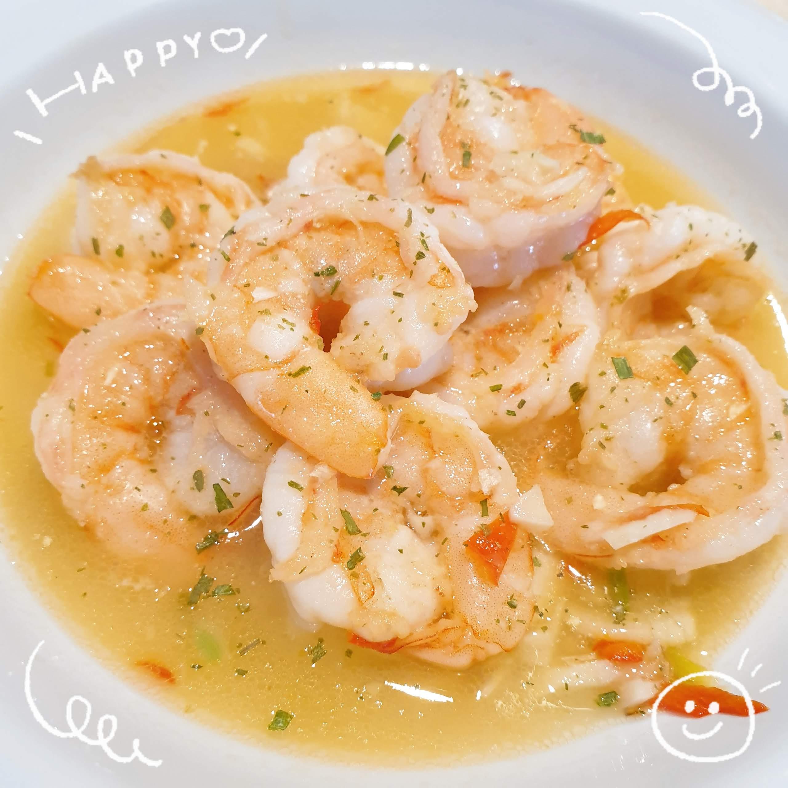 [🦐海鮮] 鴻運當頭 - 檸檬蝦