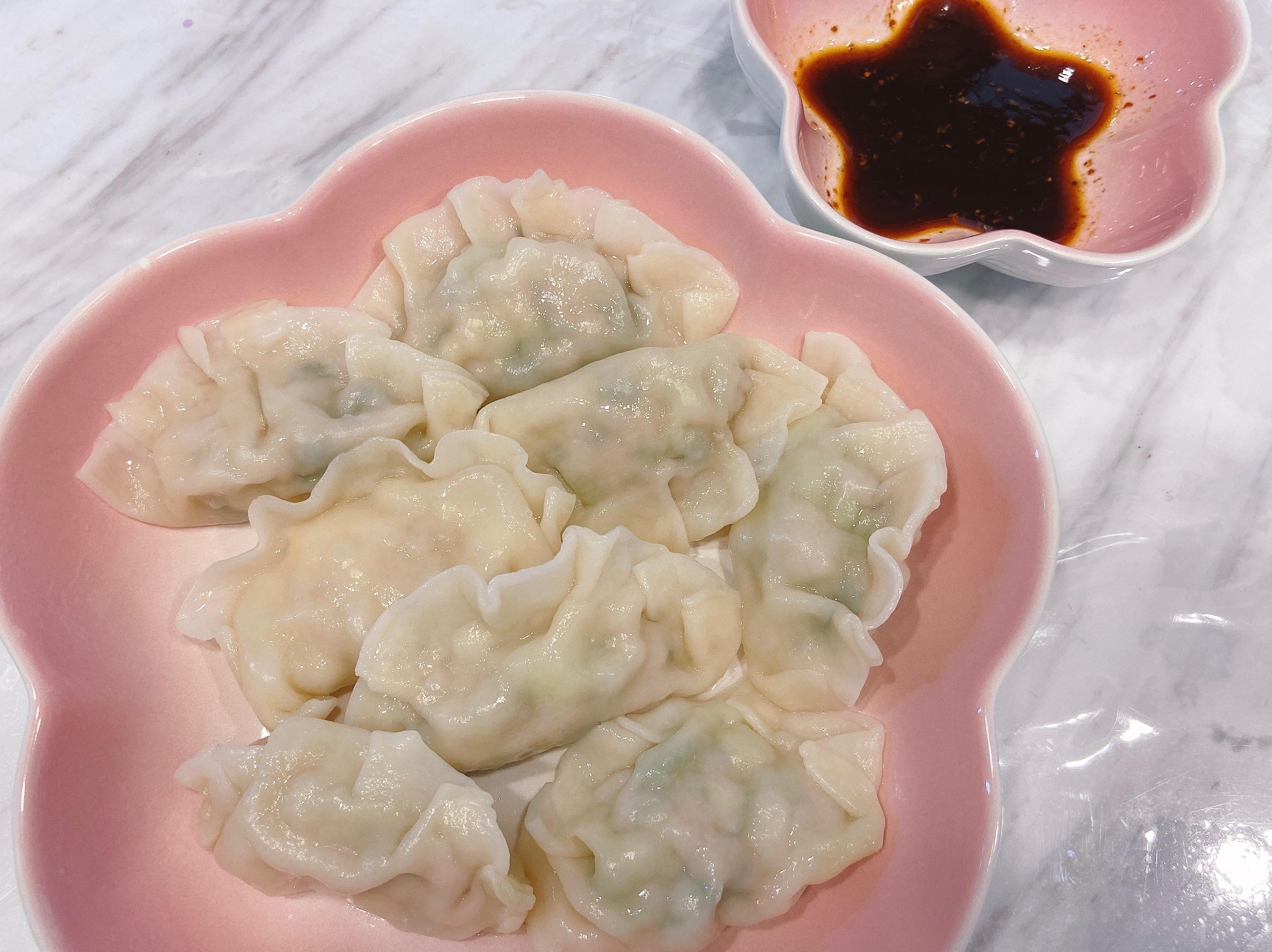 青江菜/雪菜水餃