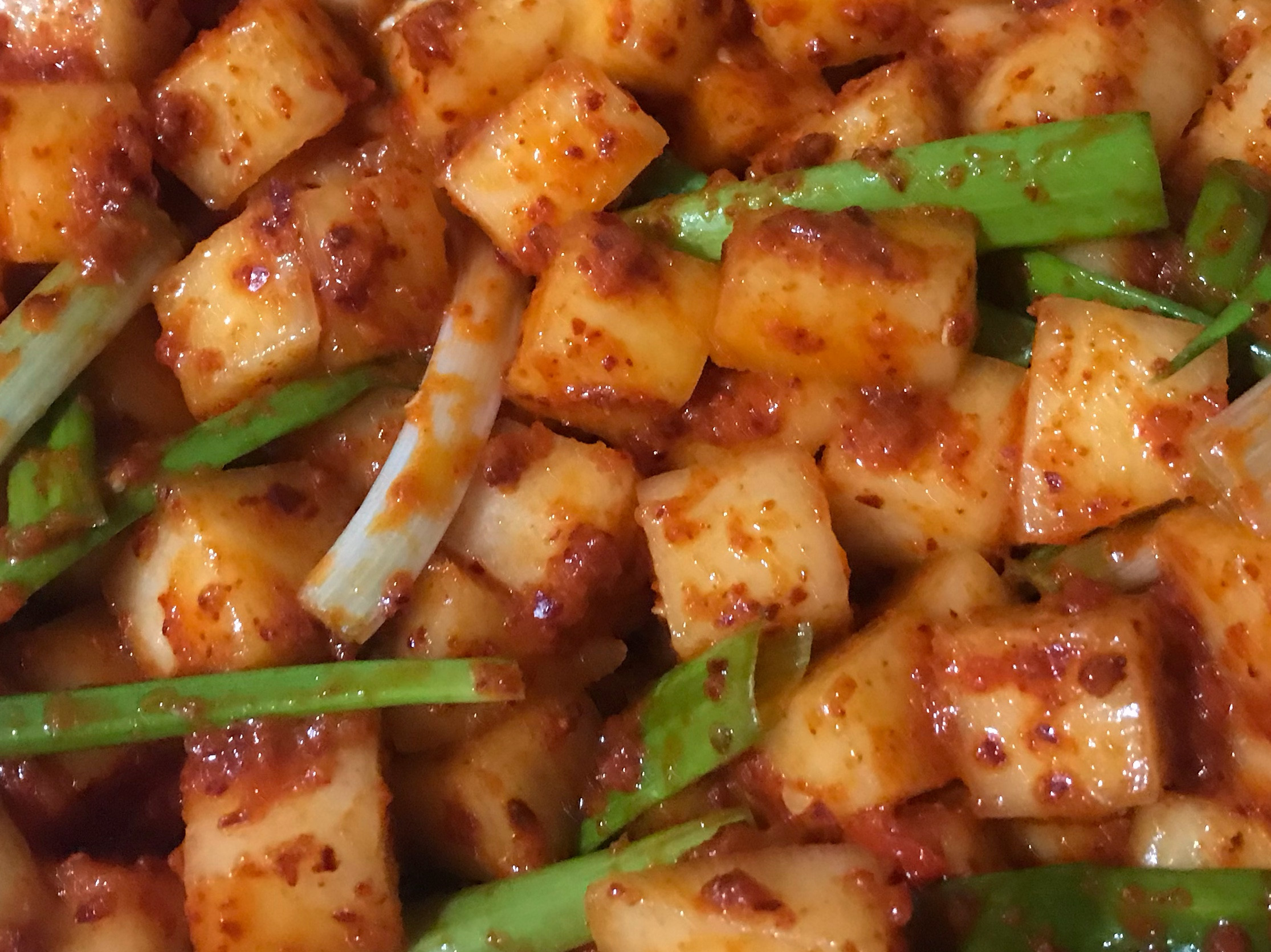 韓式辣蘿蔔泡菜