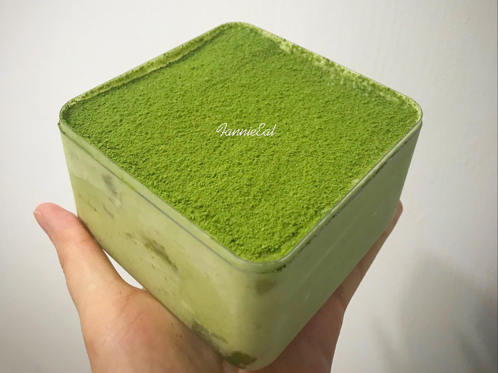 抹茶提拉米蘇 (免烤箱)