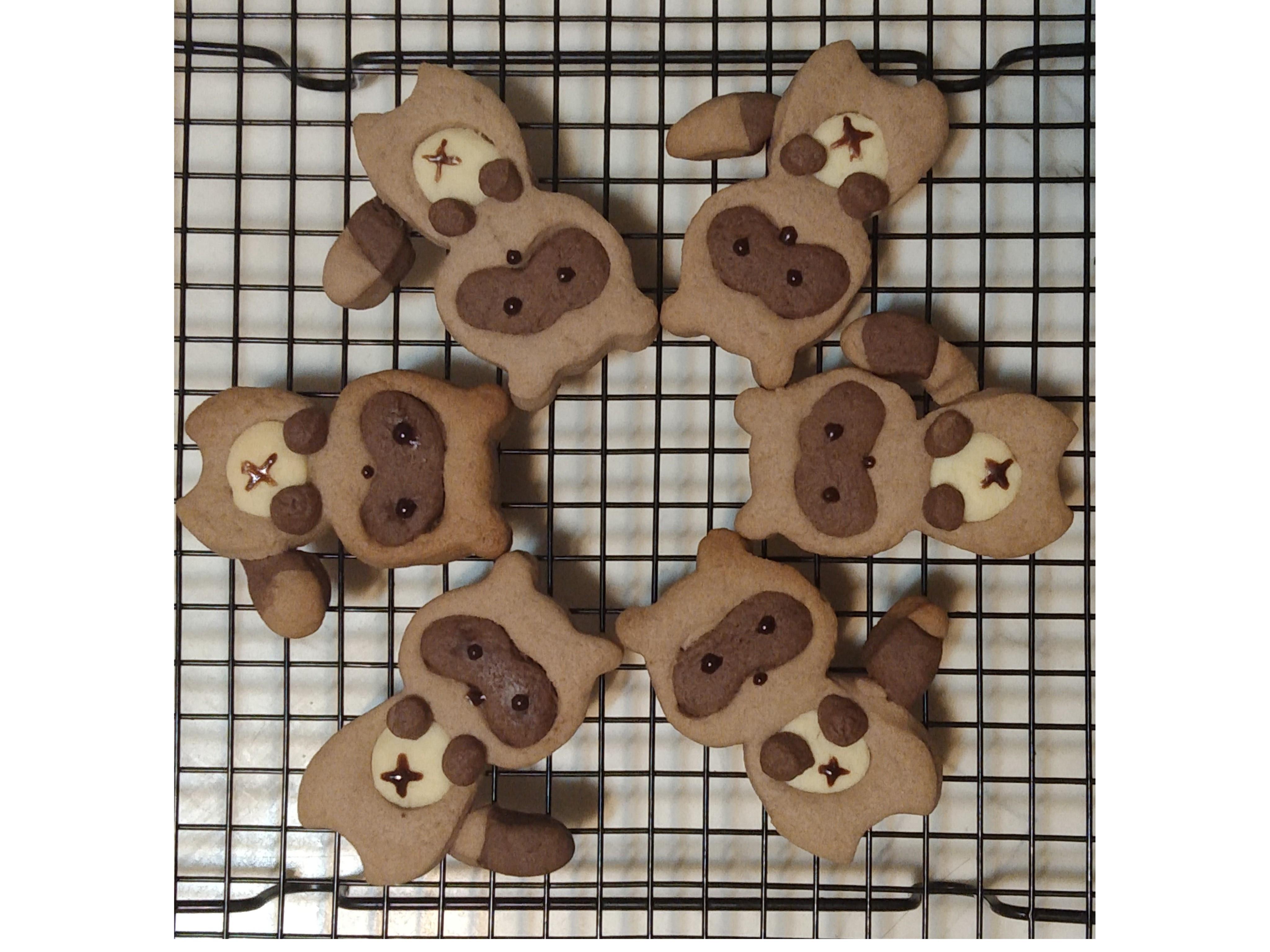 浣熊造型餅乾🦝