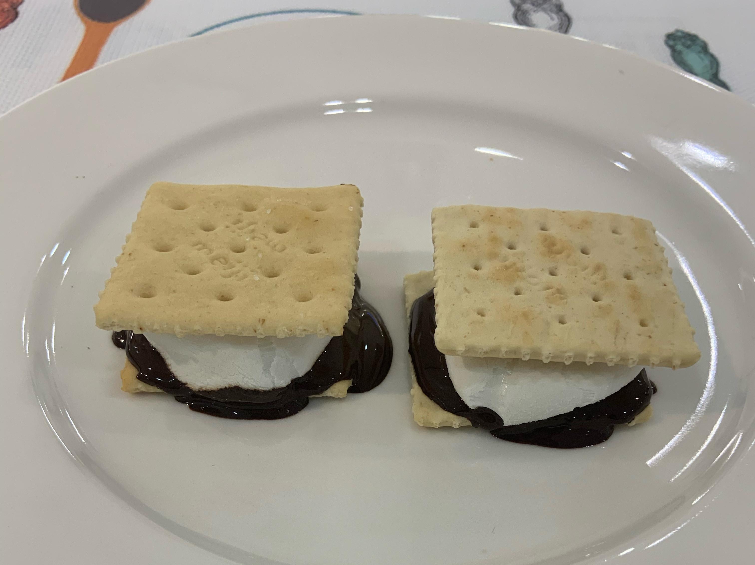 巧克力棉花糖蘇打餅乾(氣炸鍋版本)