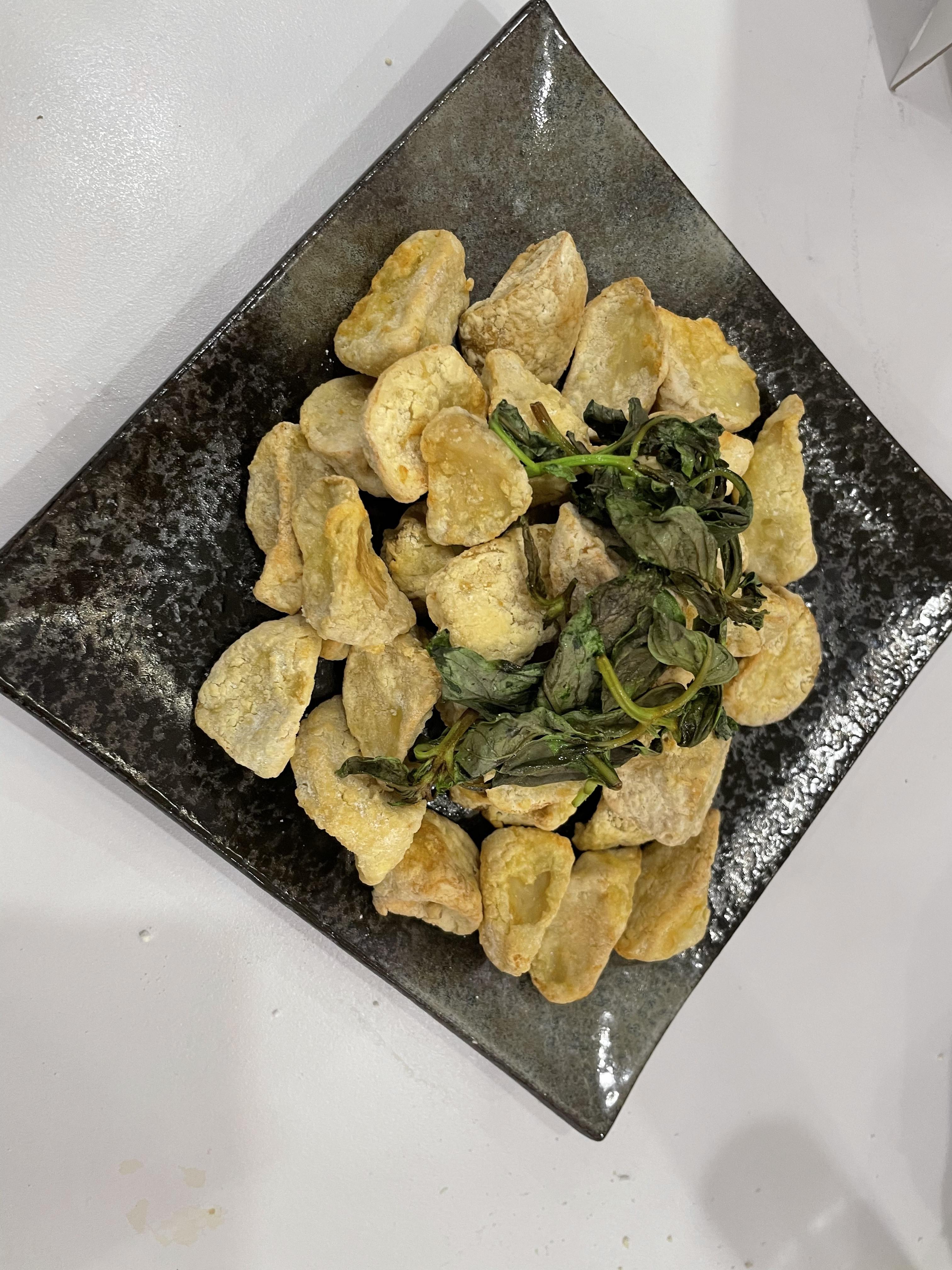 酥炸杏鮑菇(飛利浦氣炸鍋)