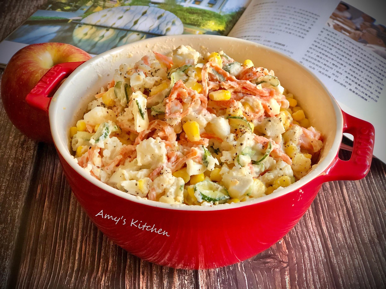 玉米馬鈴薯沙拉