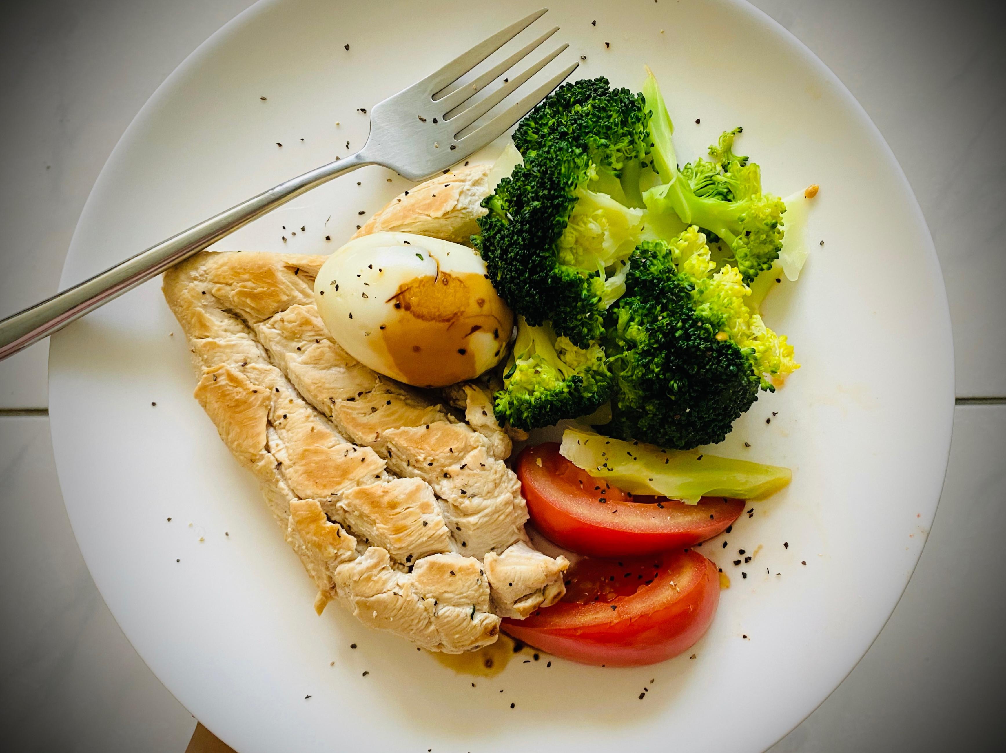 [減脂餐]S8 雞胸/花椰菜/番茄蛋