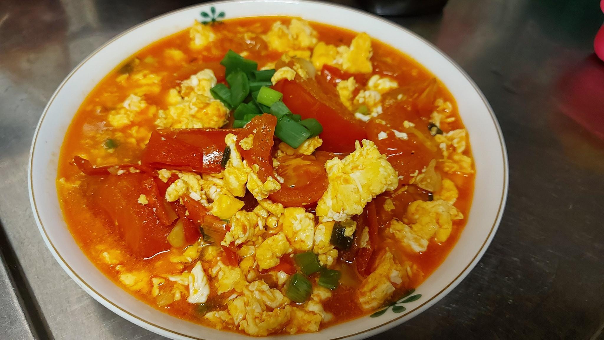 家常番茄炒蛋