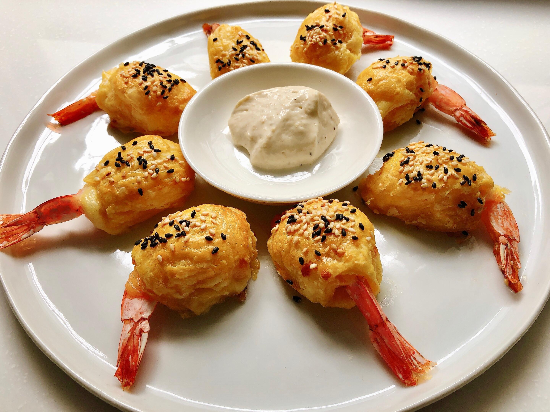黃金酥皮起司蝦🍤