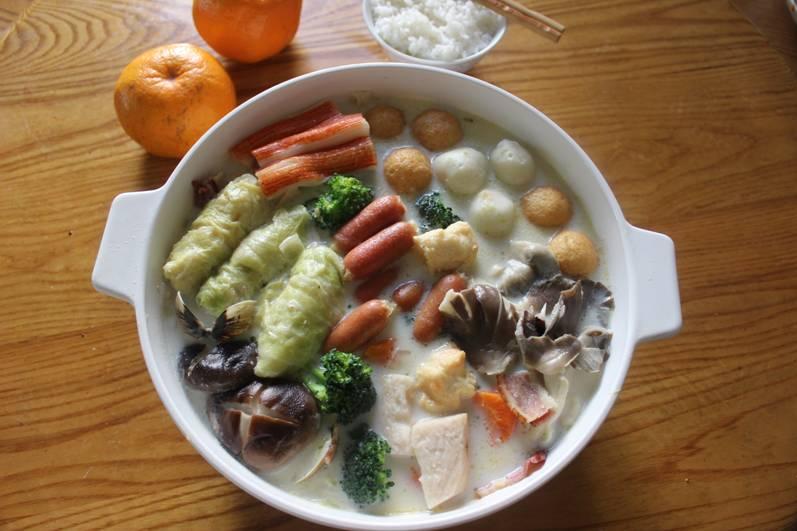 年菜系列~和風鮮奶鮮蔬火鍋
