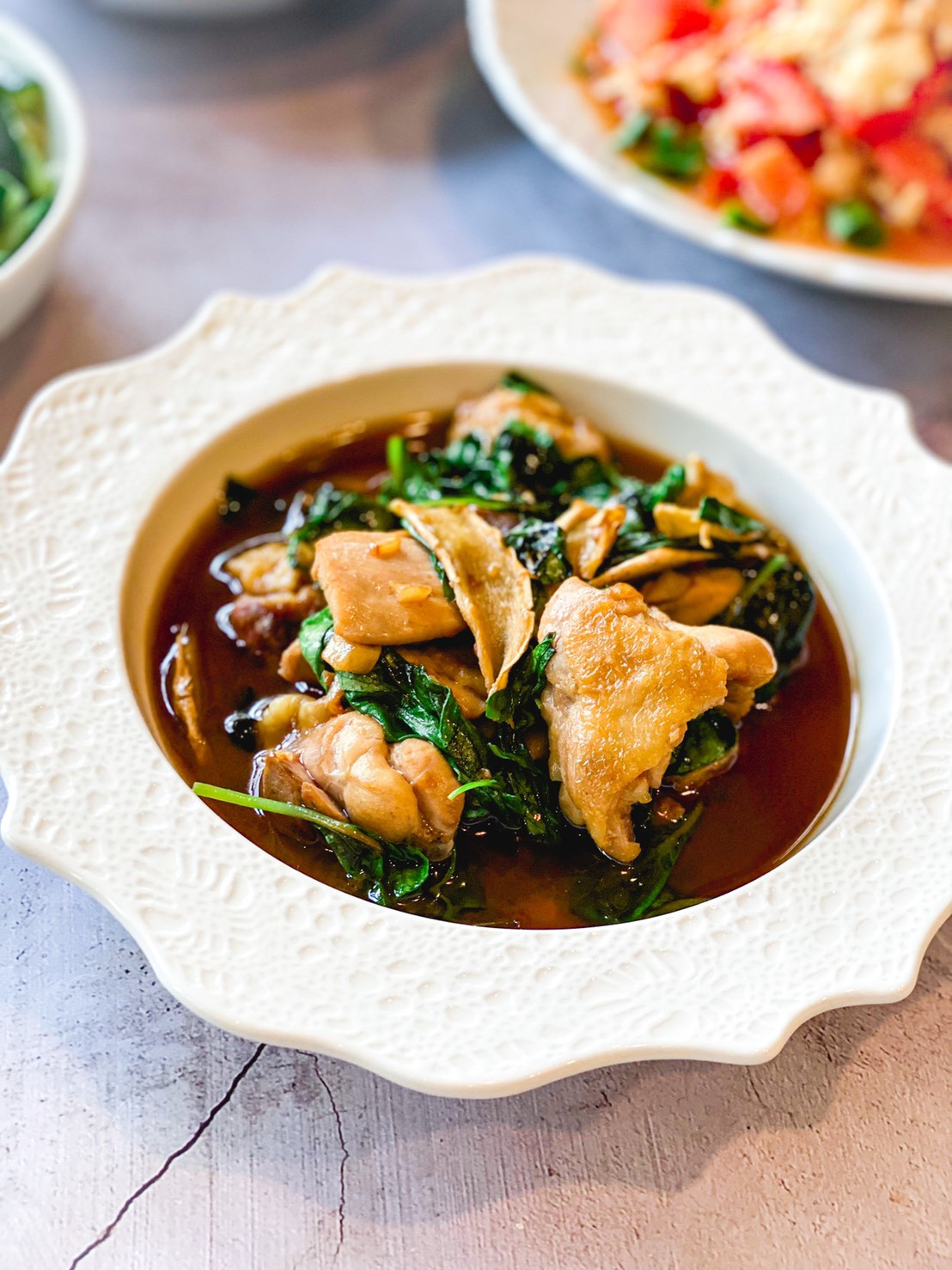 家常菜系列-台式三杯雞