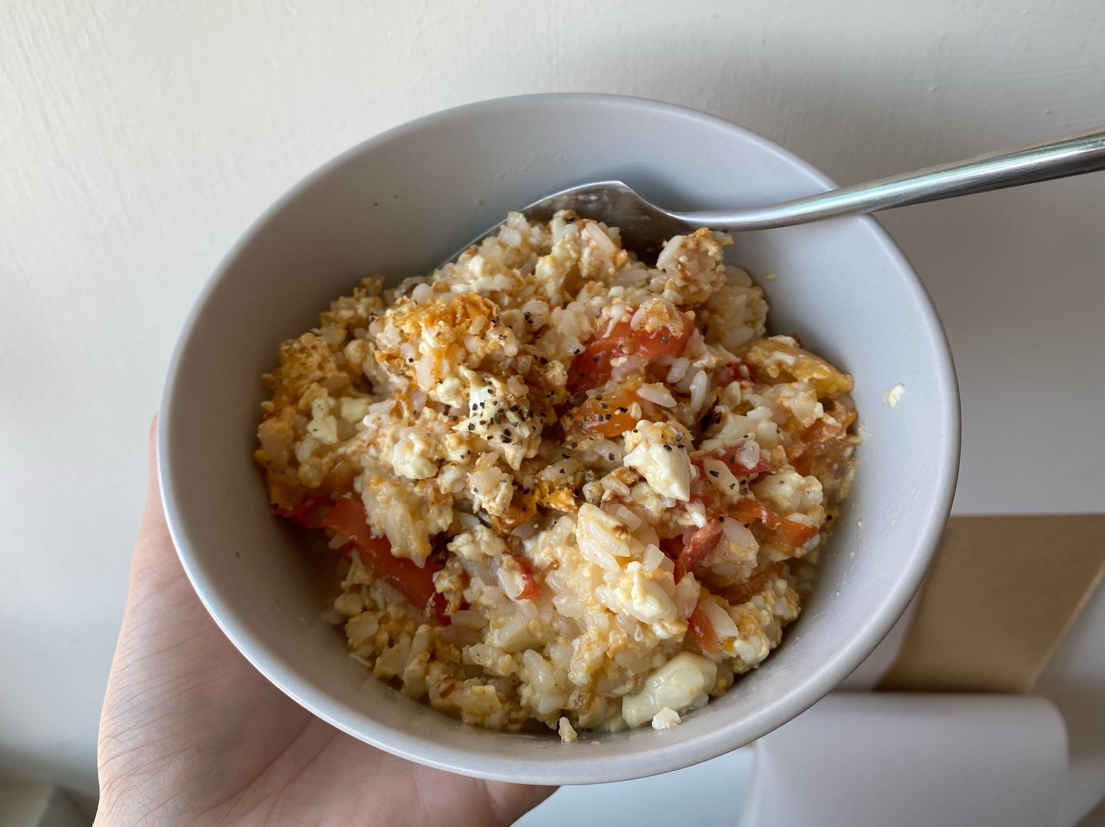[減脂餐]S10 番茄蛋炊飯