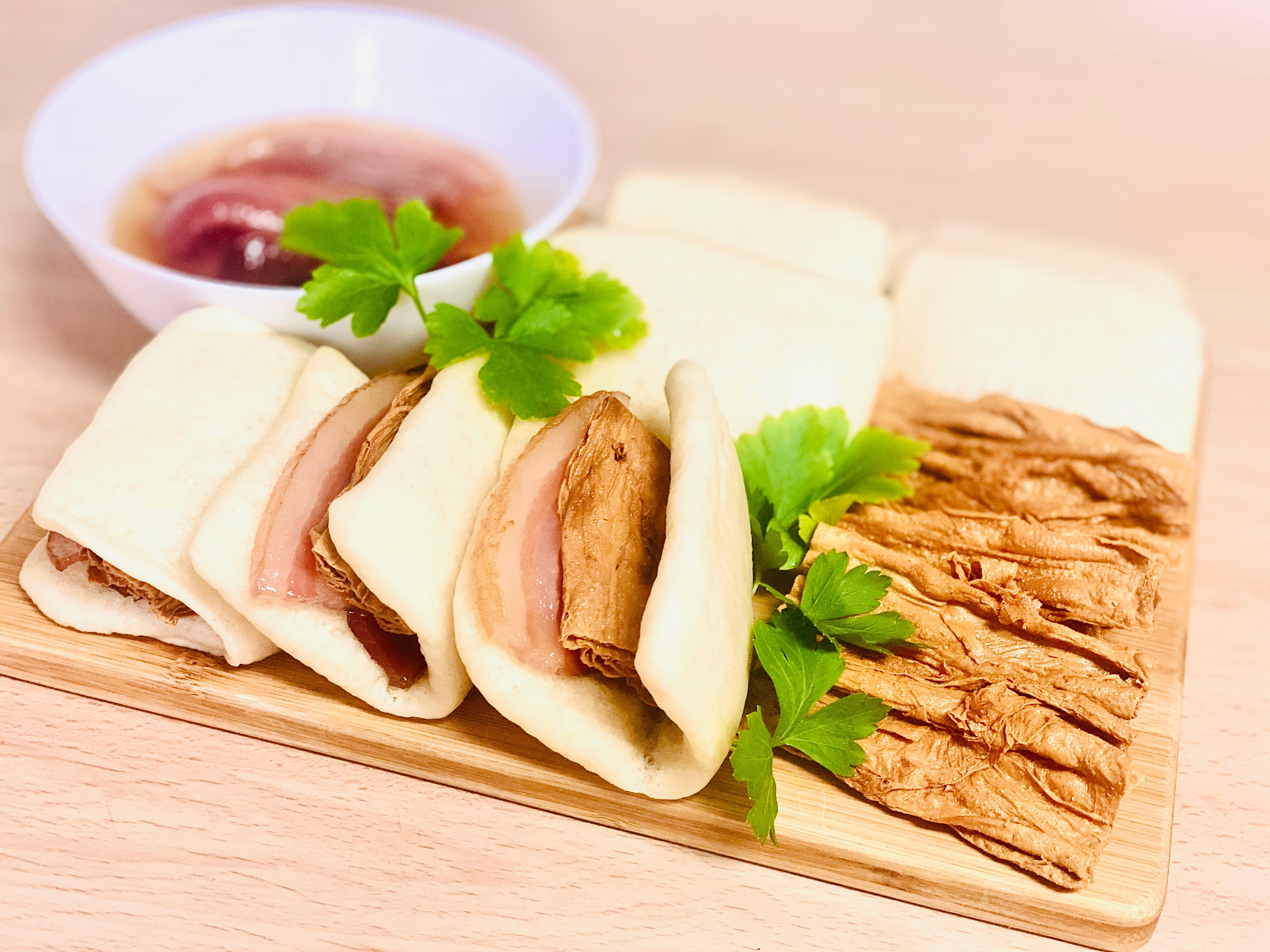 年菜 家庭版富貴雙方 蜜汁火腿