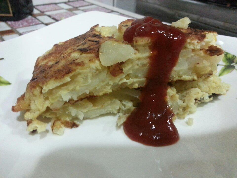 「黃金玄米油Home炸料理」馬鈴薯起司烘蛋