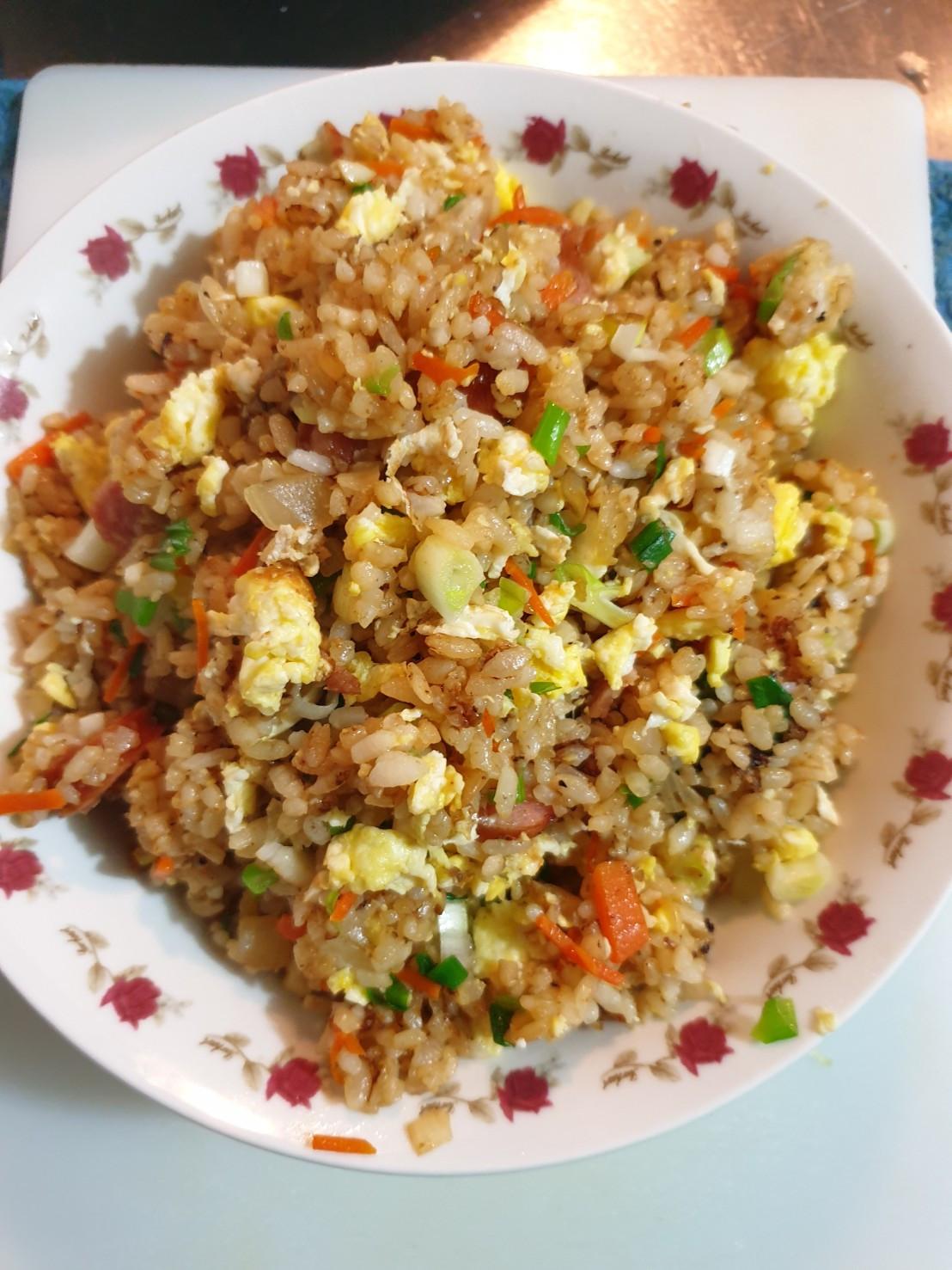 古味醬油炒飯(火腿)