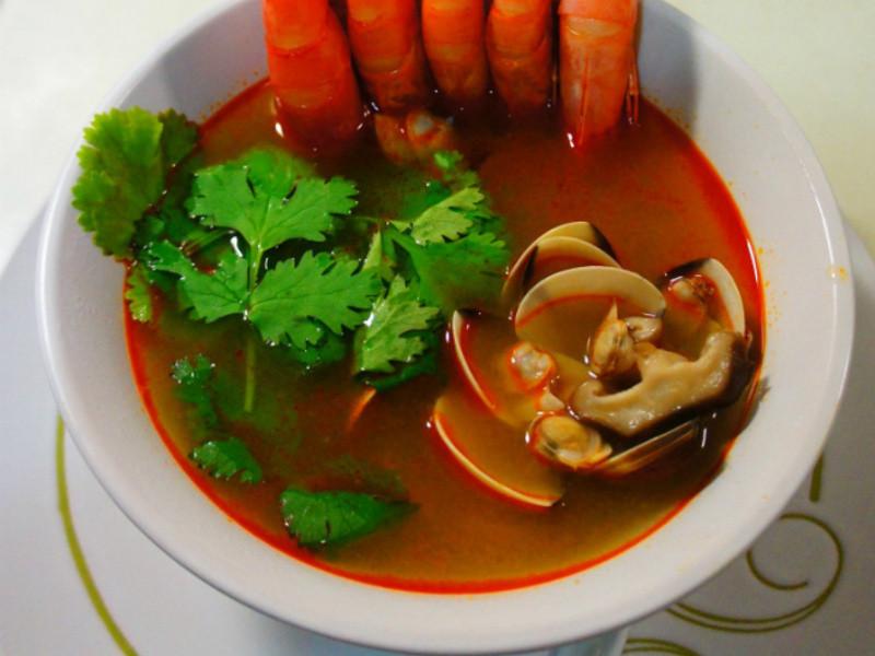 老丹~[極簡單]泰味酸辣鮮蝦湯