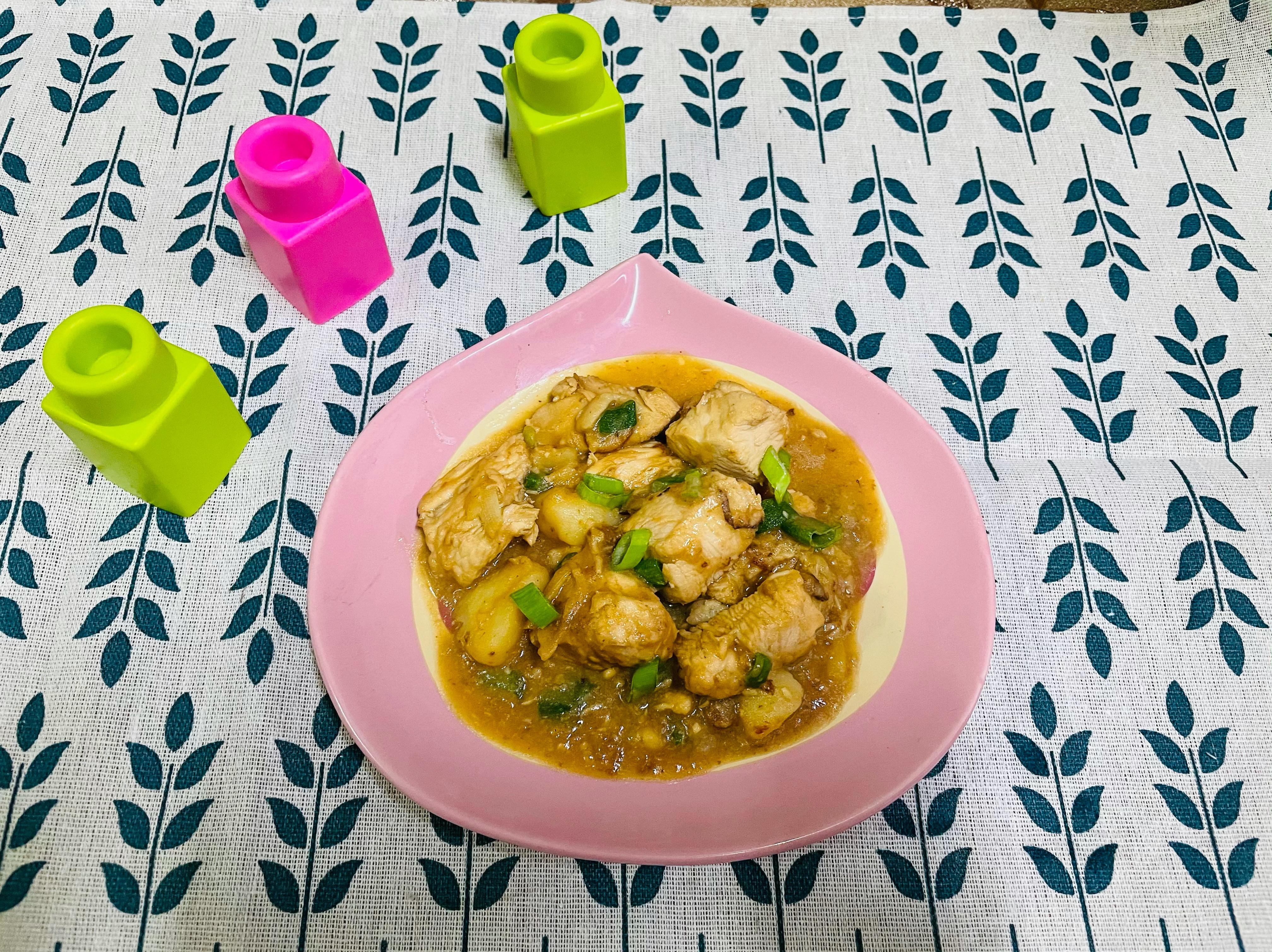 豆腐乳炒雞丁