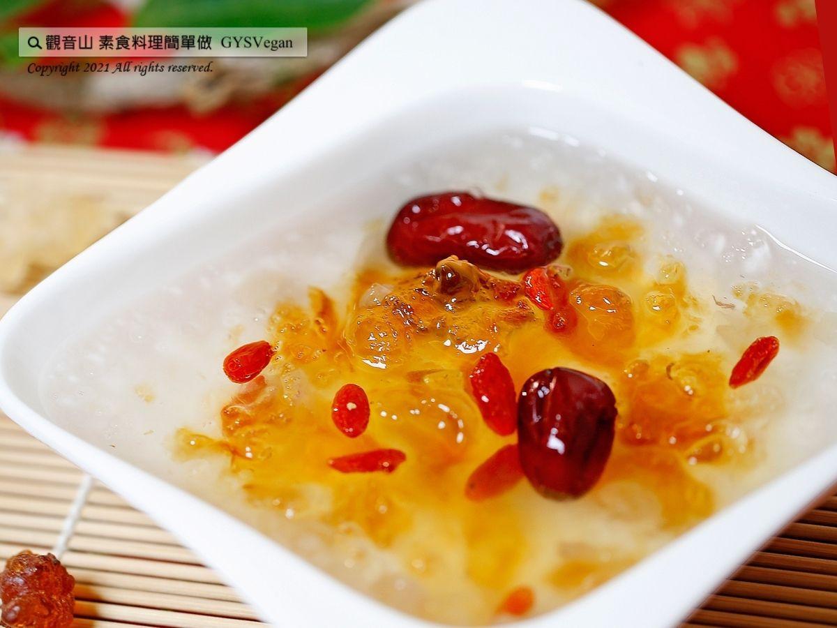 素年菜食譜🌿桃膠雪燕羹