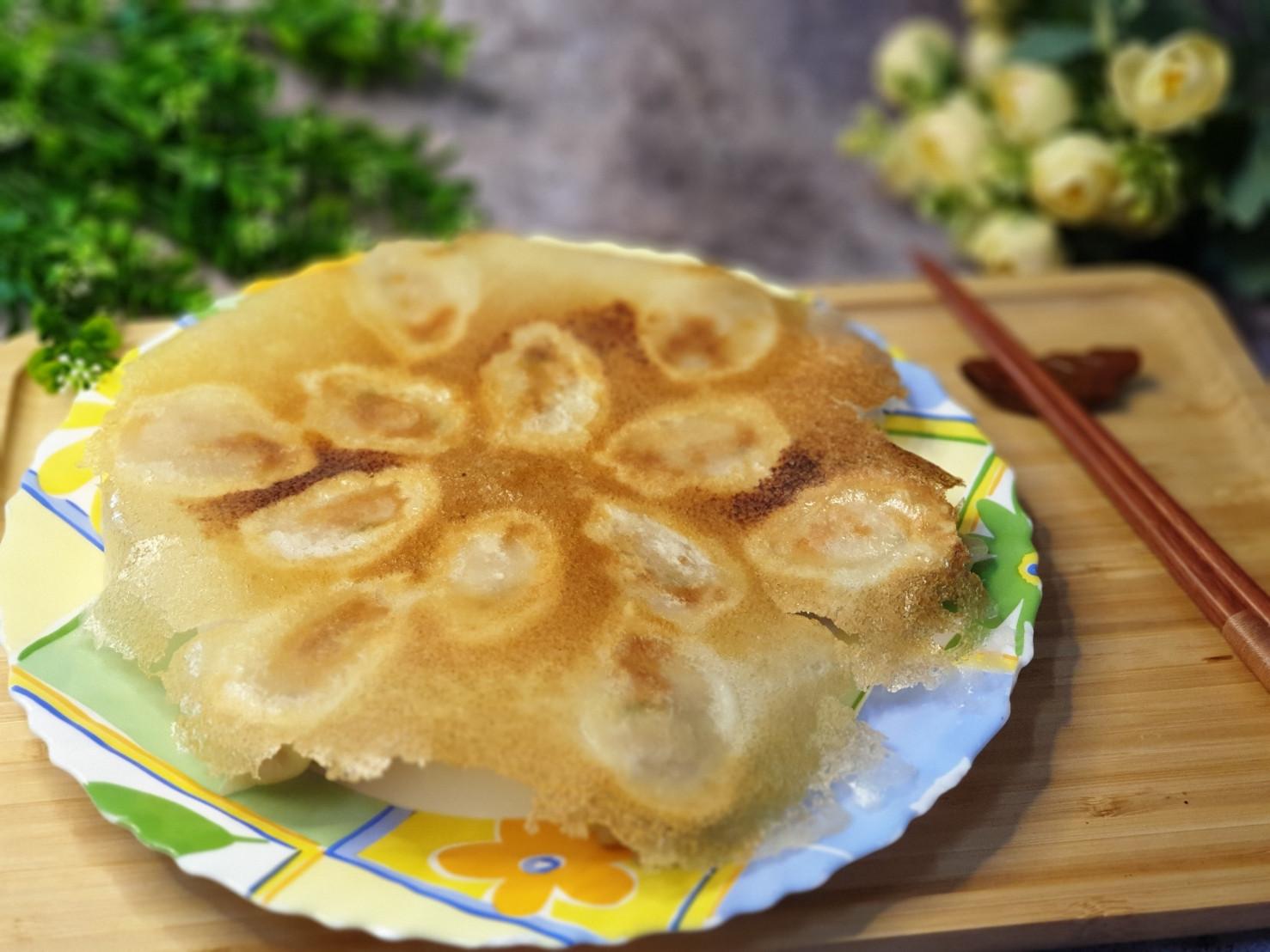 🥟脆皮日式煎餃(黃金雪花煎餃)