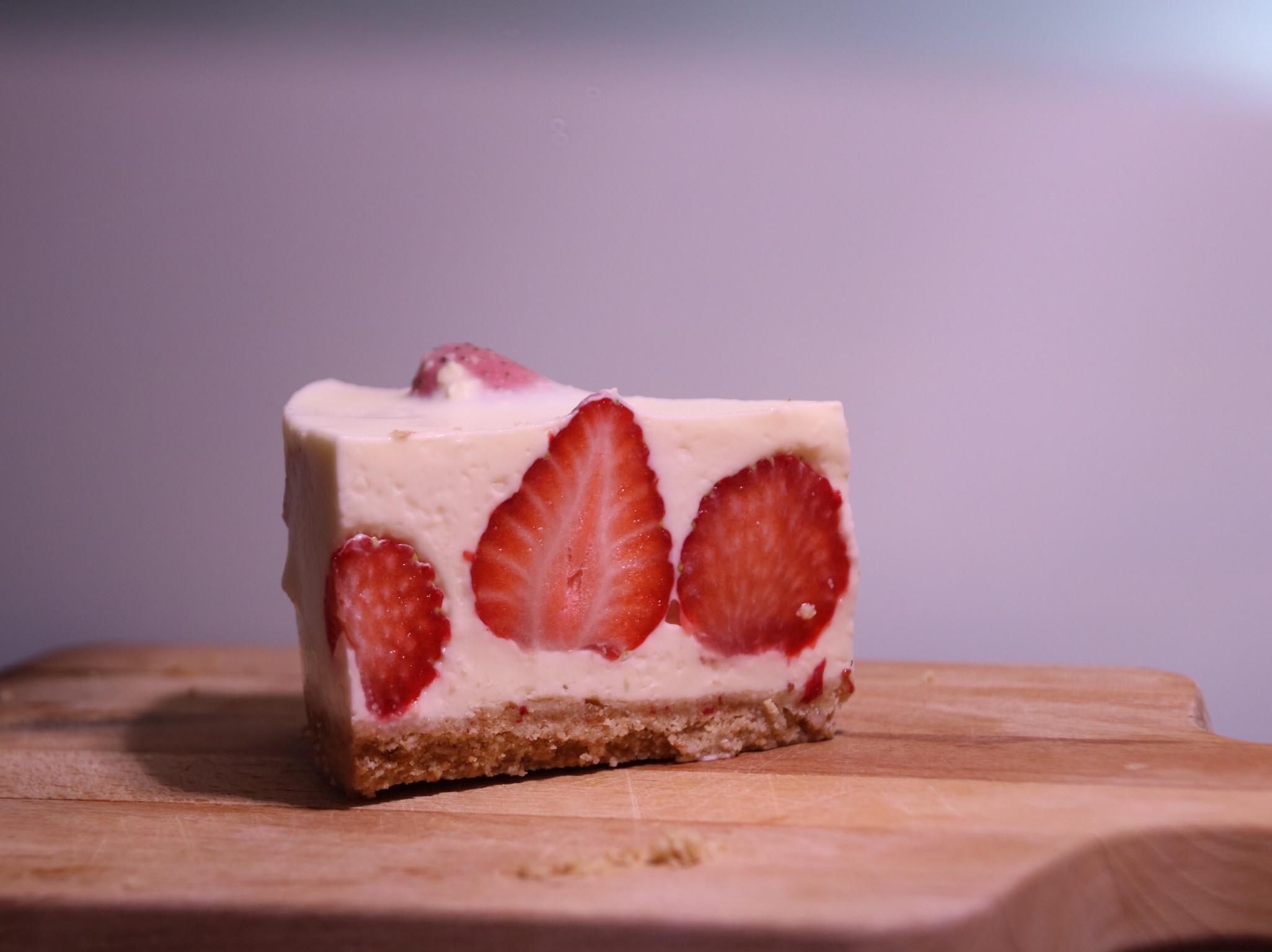 免烤🍓草莓乳酪蛋糕