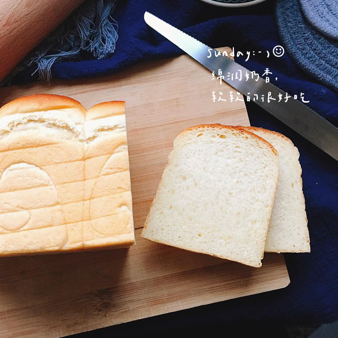 「滿口奶香」北海道煉乳吐司|直接法