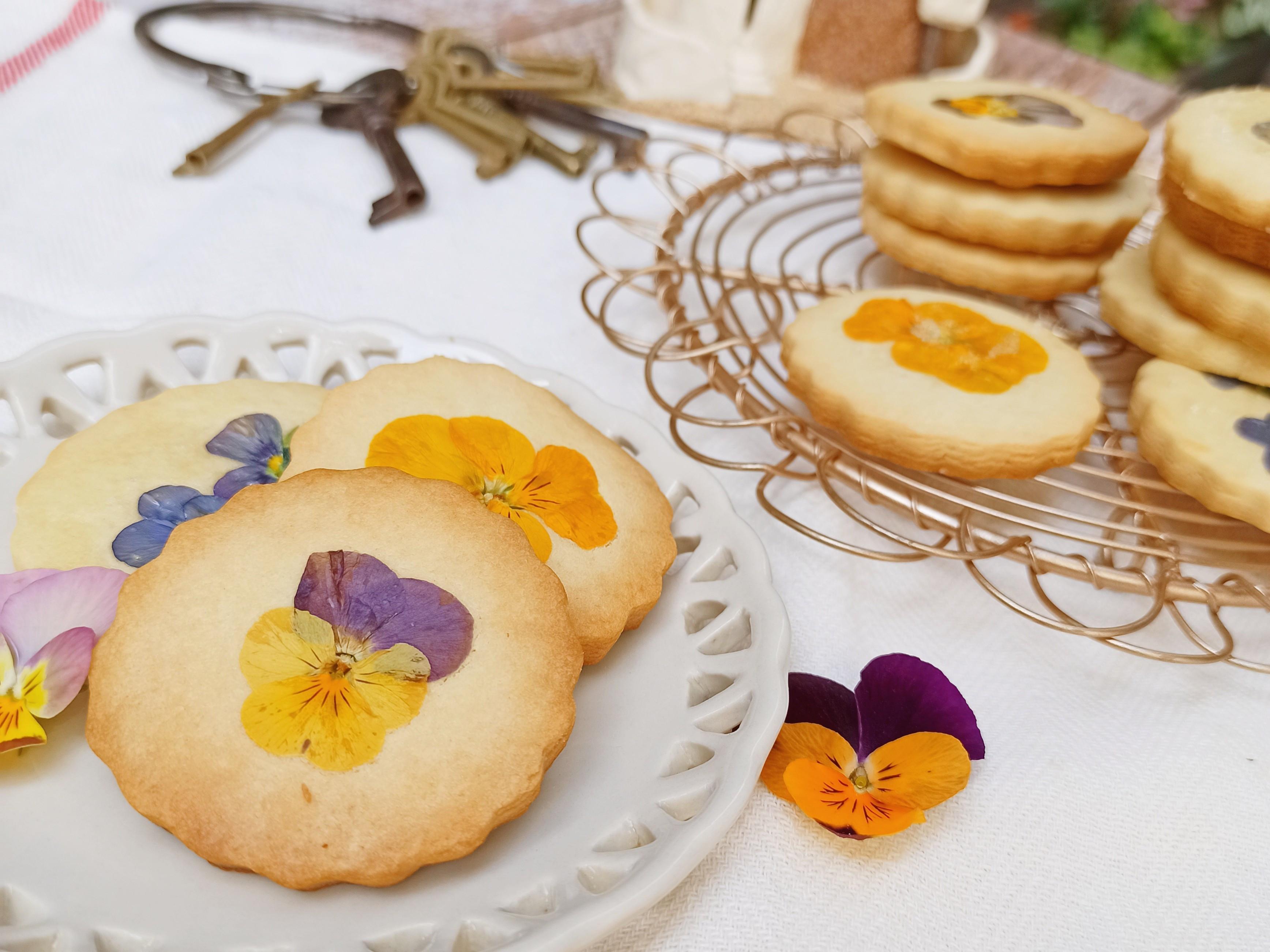 春天來了~花餅乾