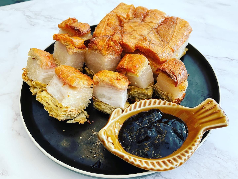 脆皮素燒肉- 不會出油的燒肉,新年必食!