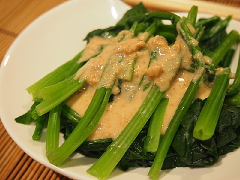 【深夜食堂】芝麻菠菜