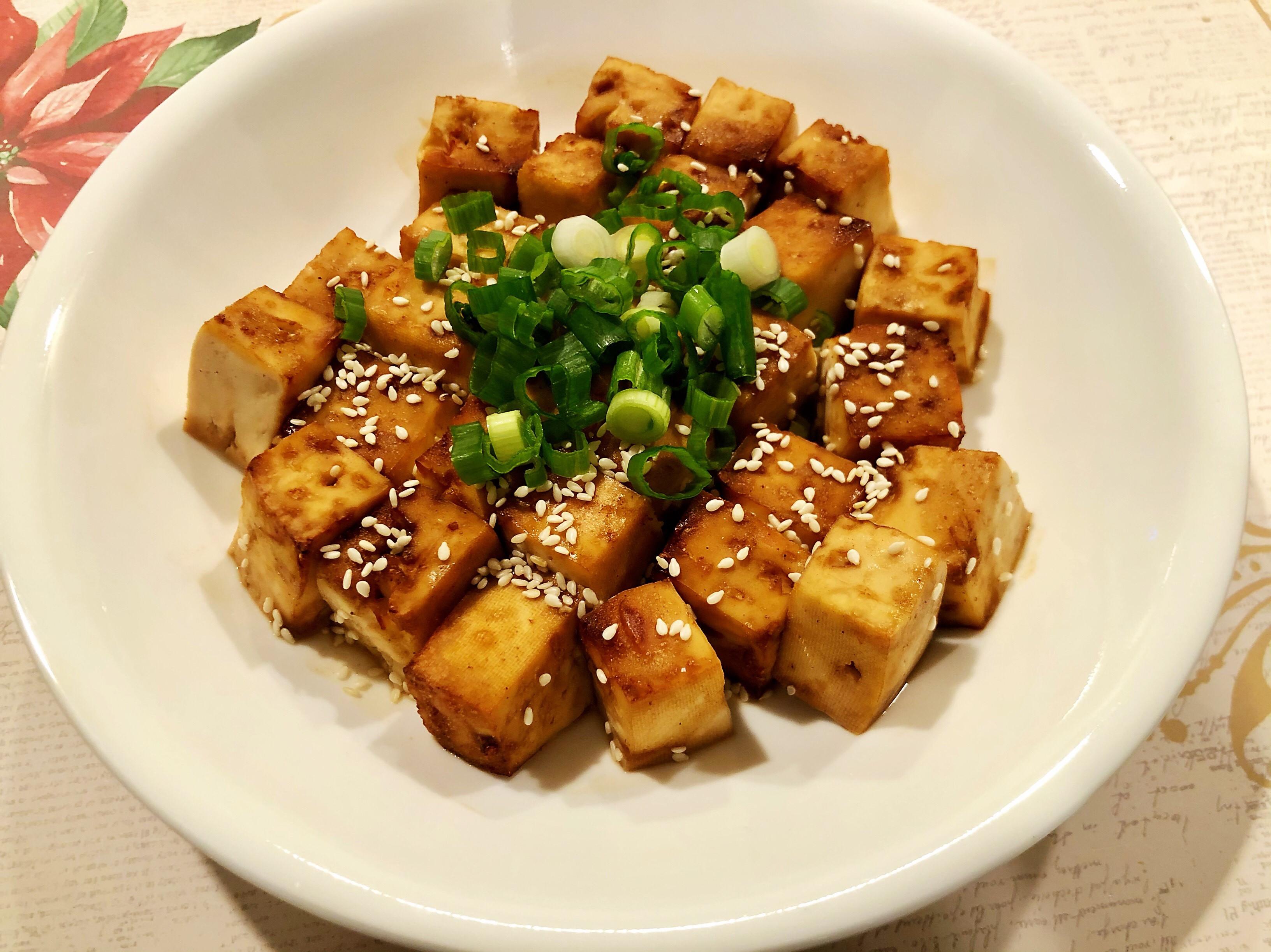鐵板豆腐 (氣炸鍋)
