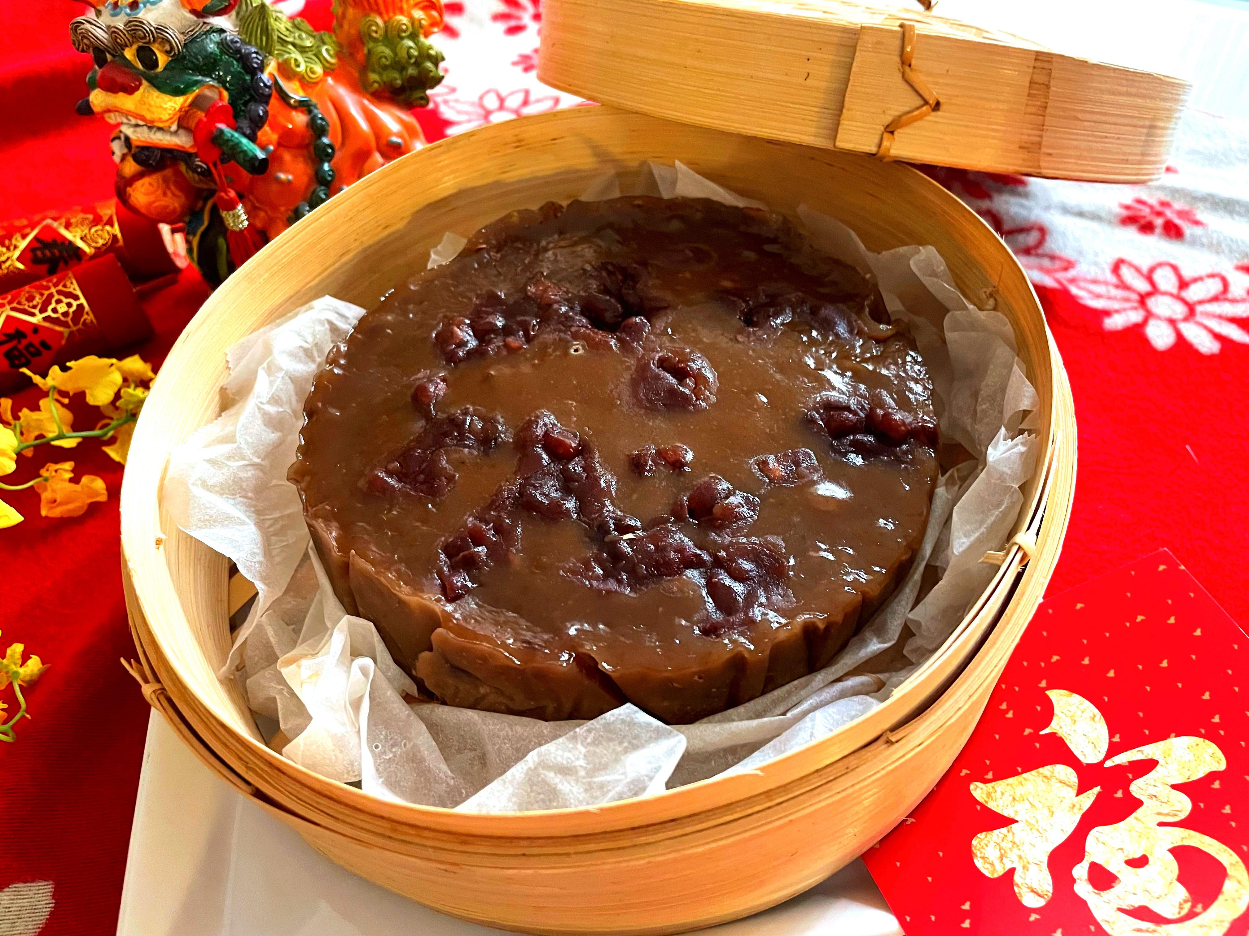 【 過好年】紅豆年糕