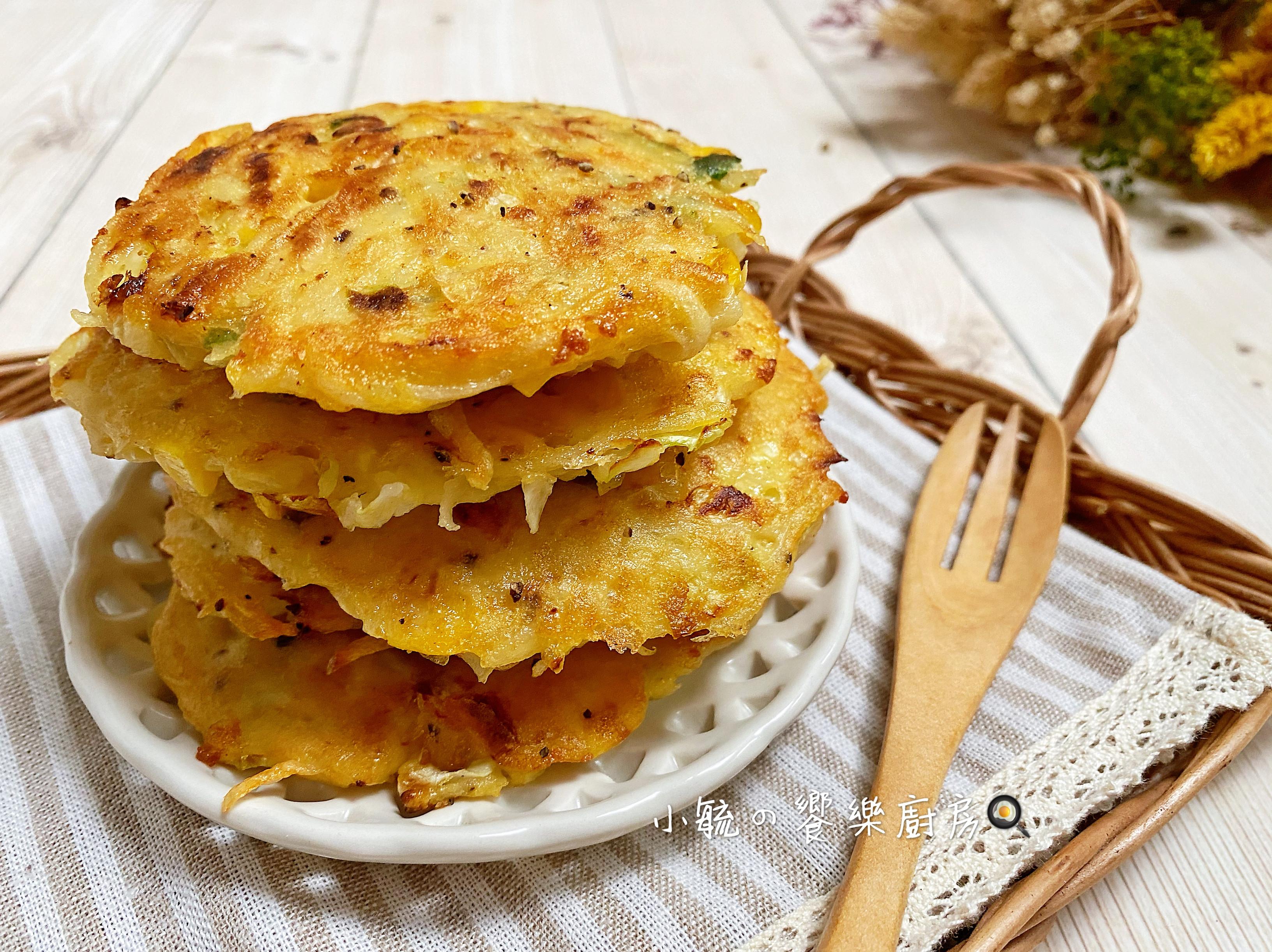 玉米馬鈴薯煎餅