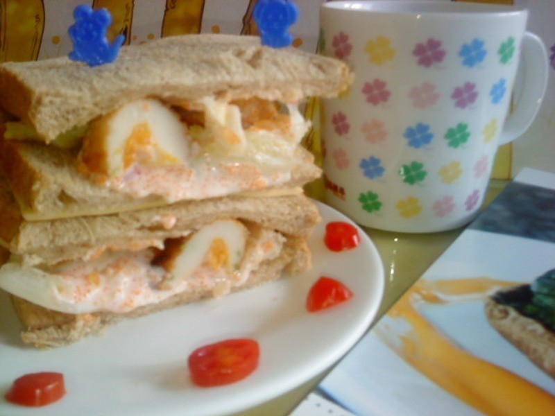『Take a bread!創意三明治、麵包早餐』波滋波滋三明治(小心上癮)