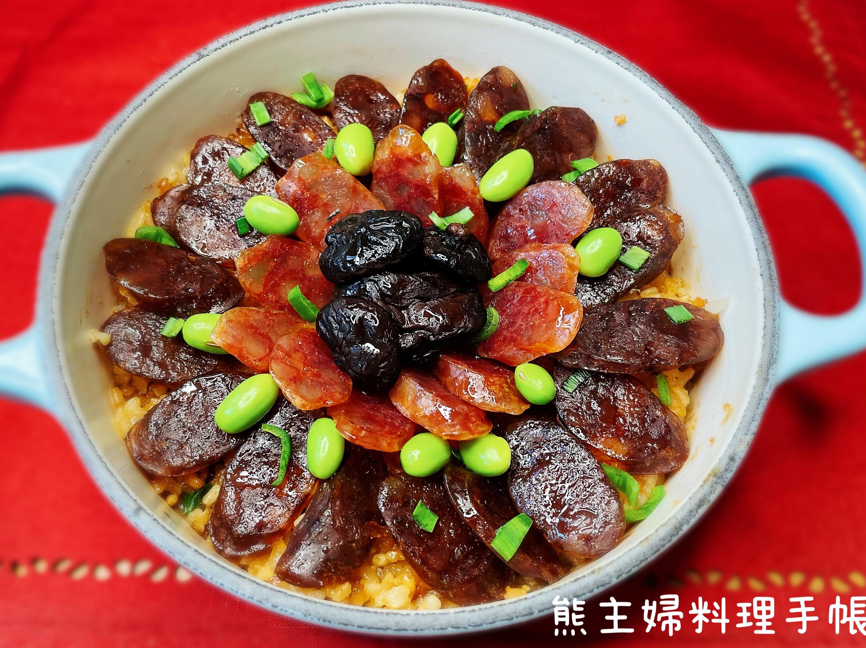 香菇臘腸煲飯(福牛賀新春)
