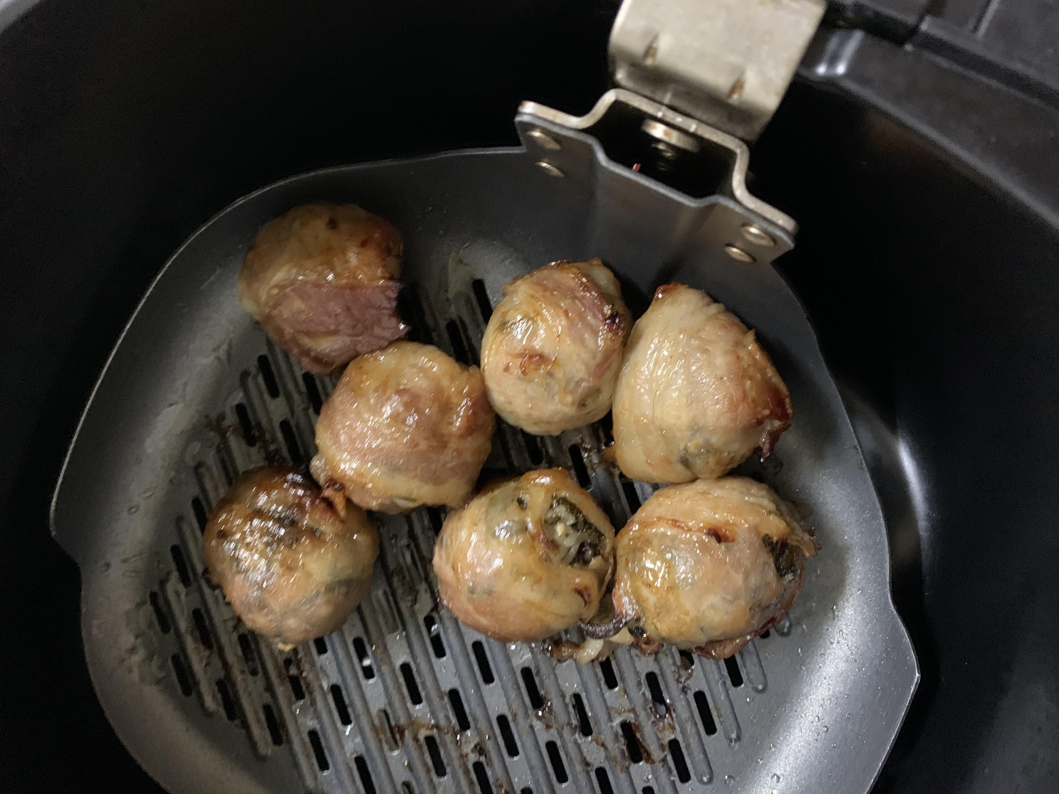 飛利浦氣炸鍋-韓式燒肉小飯丸