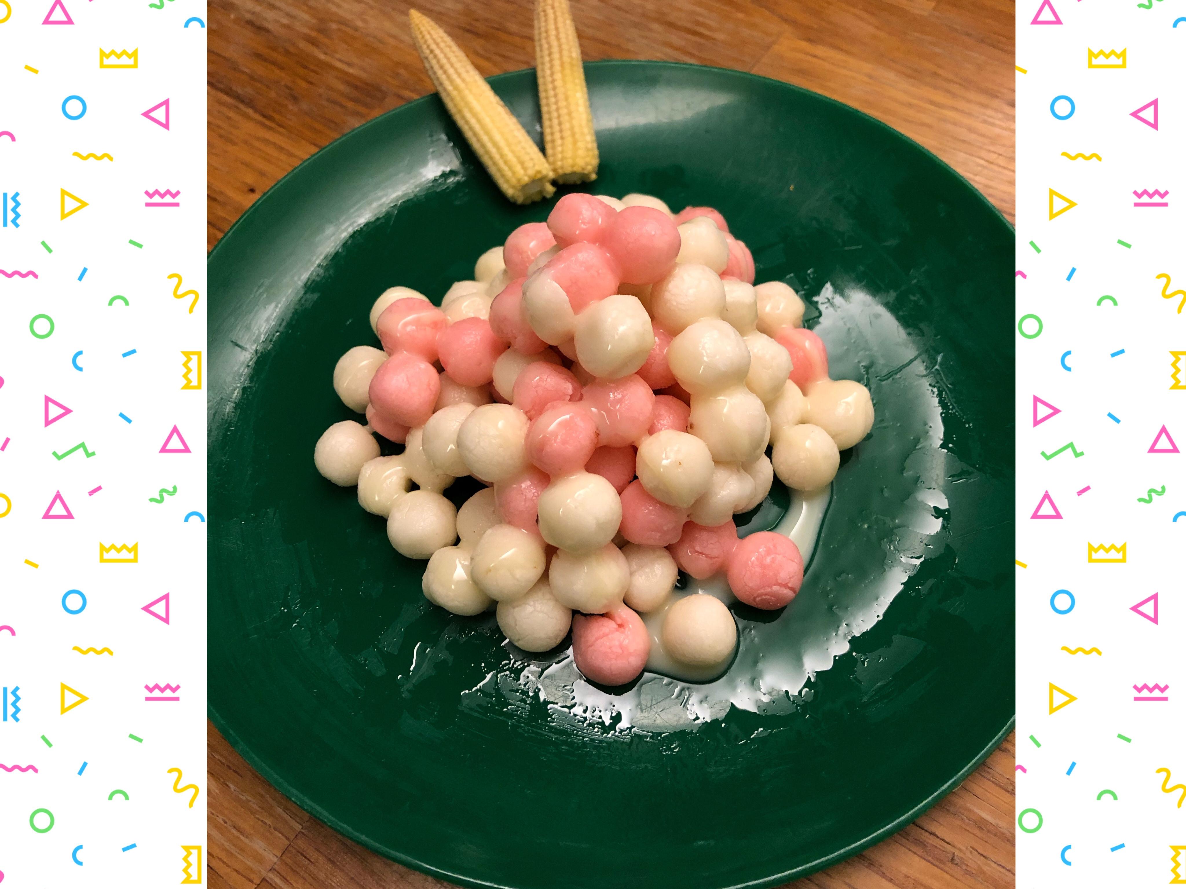 煉乳湯圓-飛利浦氣炸鍋