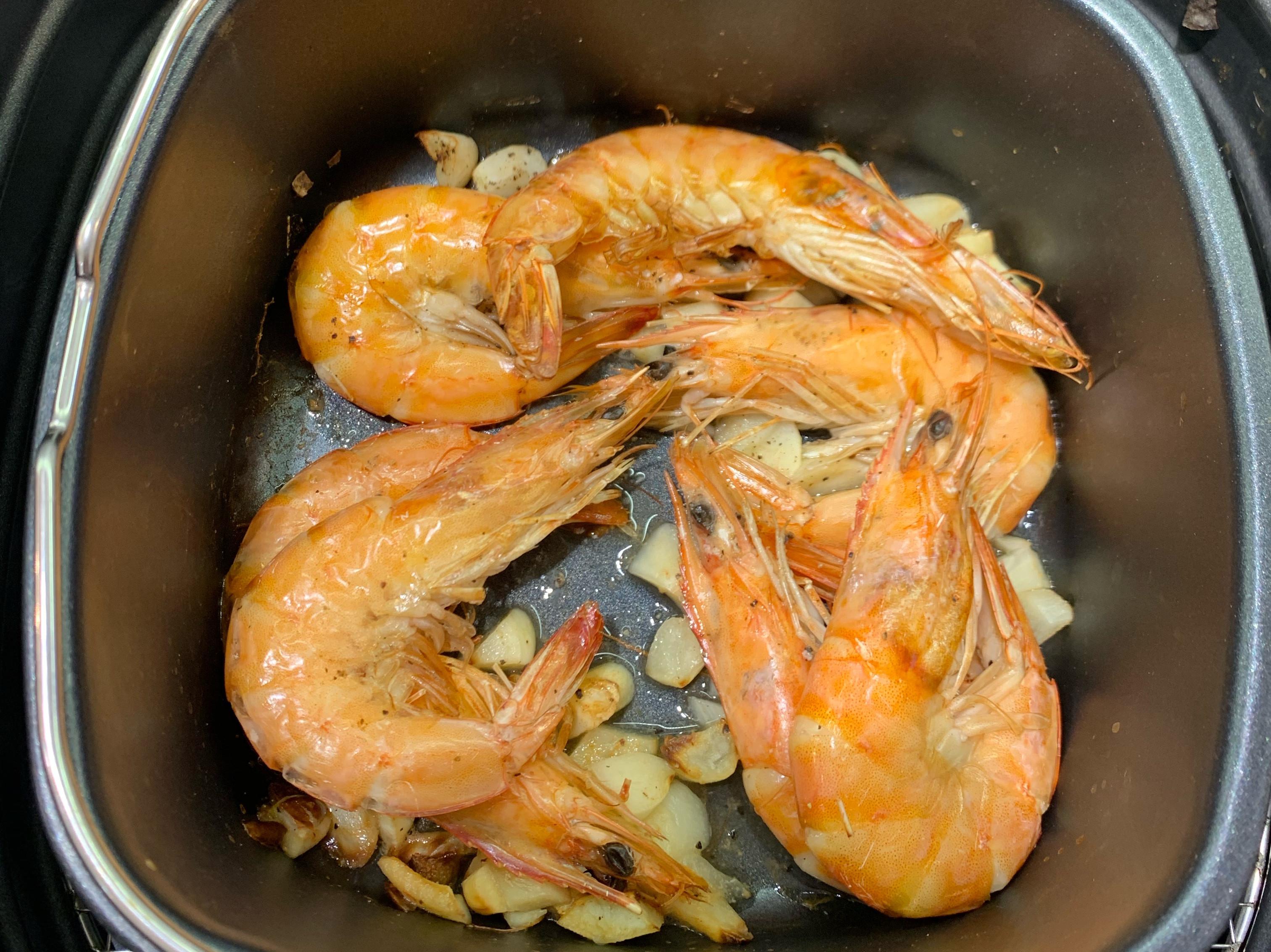 (飛利浦氣炸鍋)蒜頭蝦