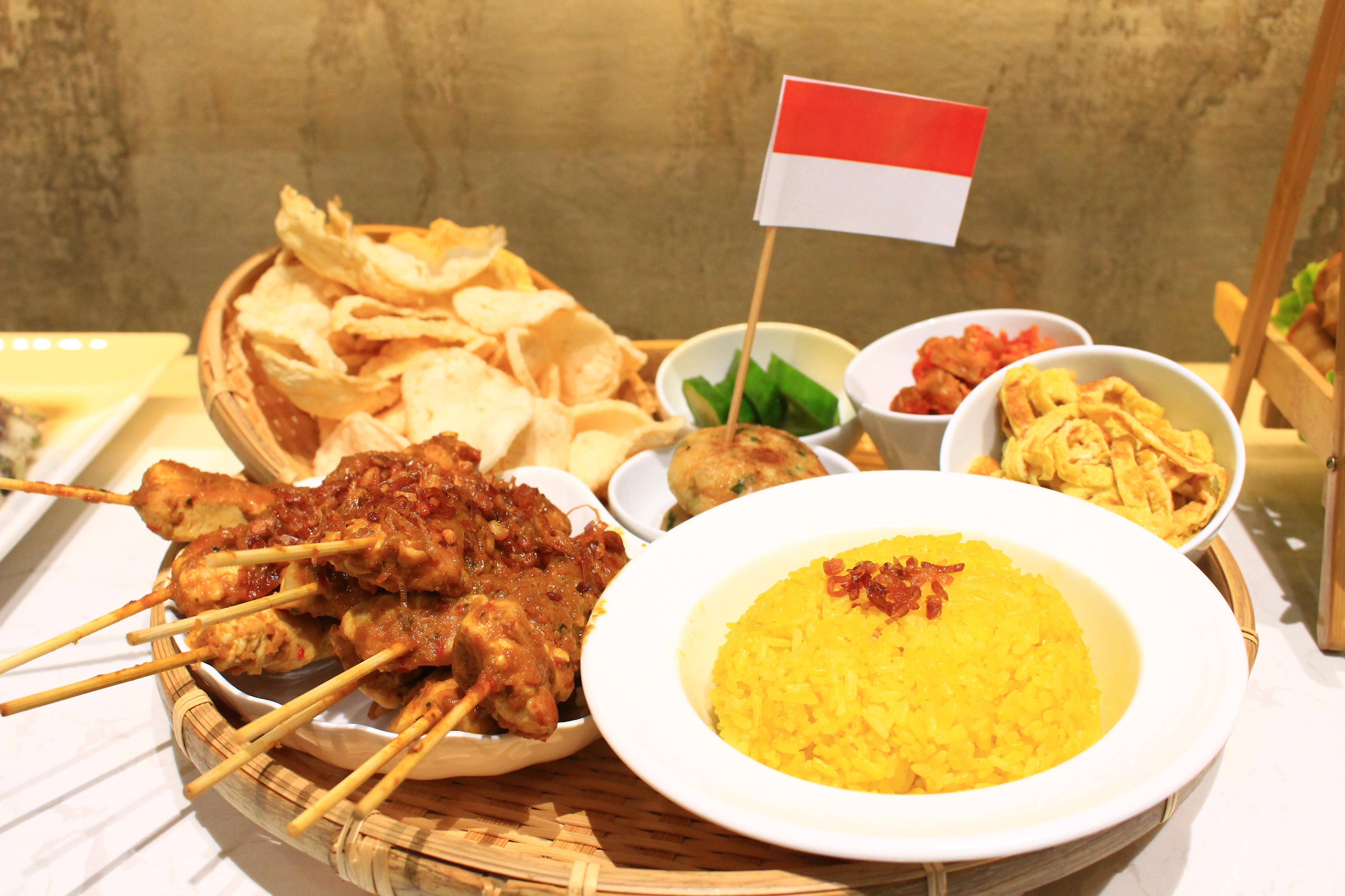 印尼薑黃飯套餐