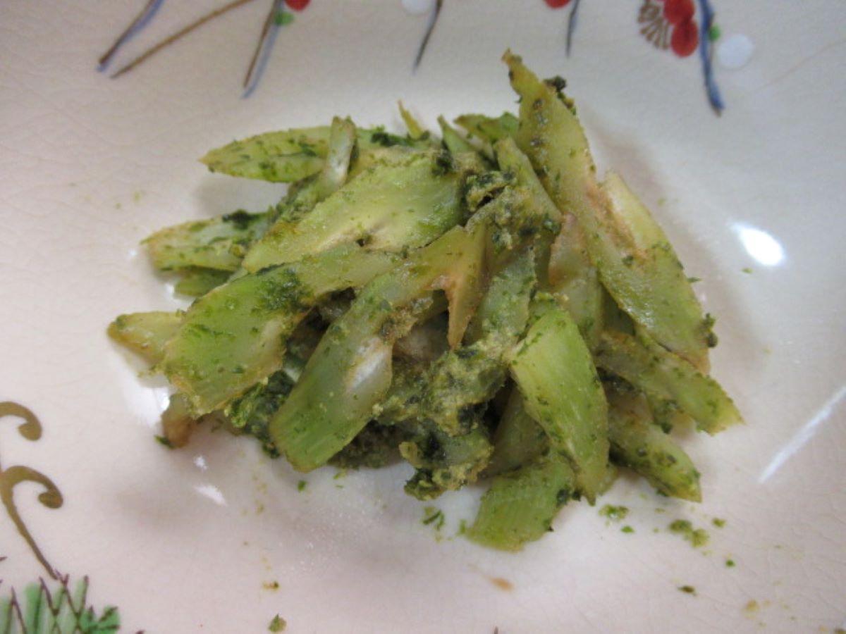 海苔芥末醬拌萵筍
