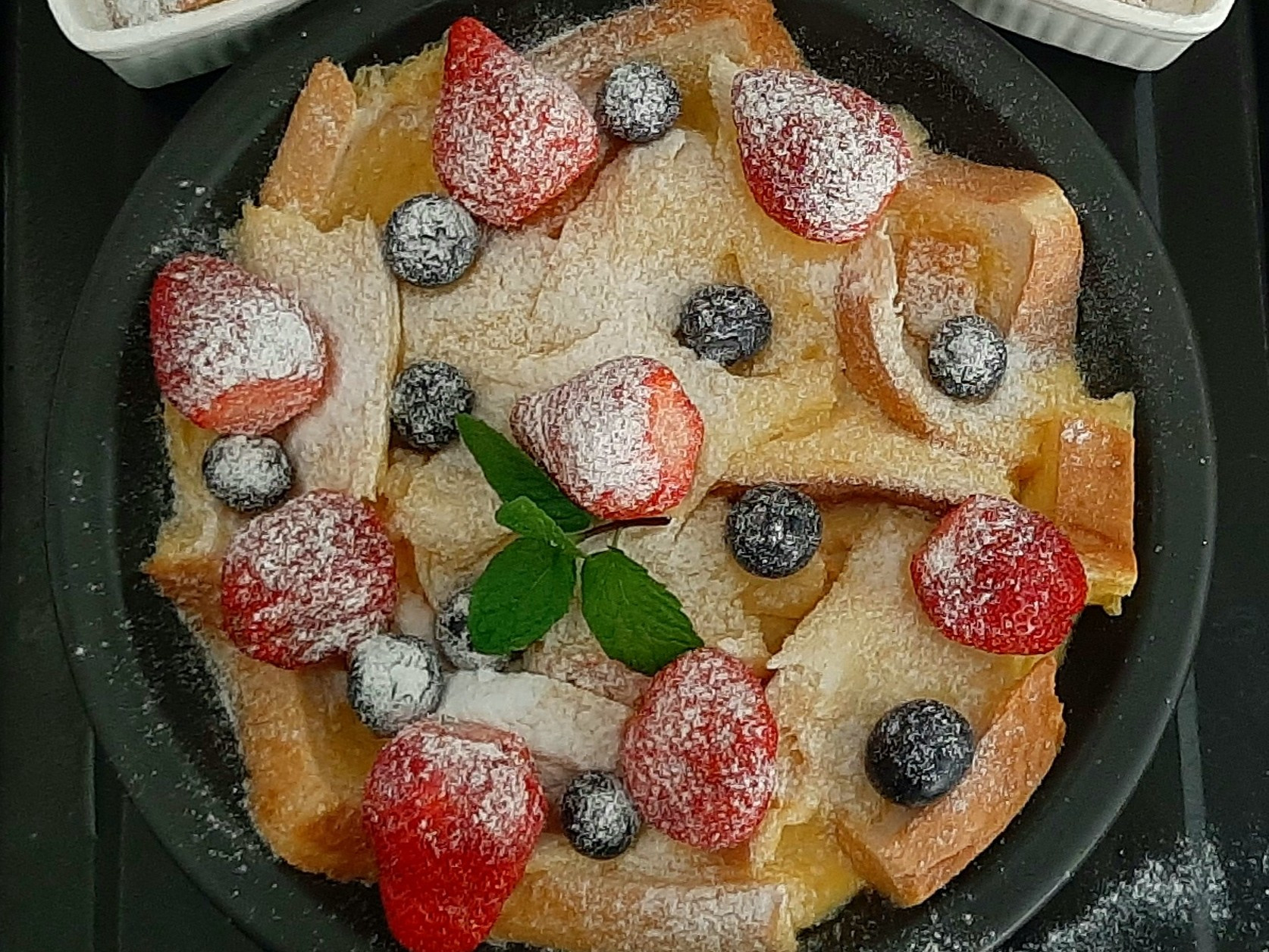 莓果布丁吐司