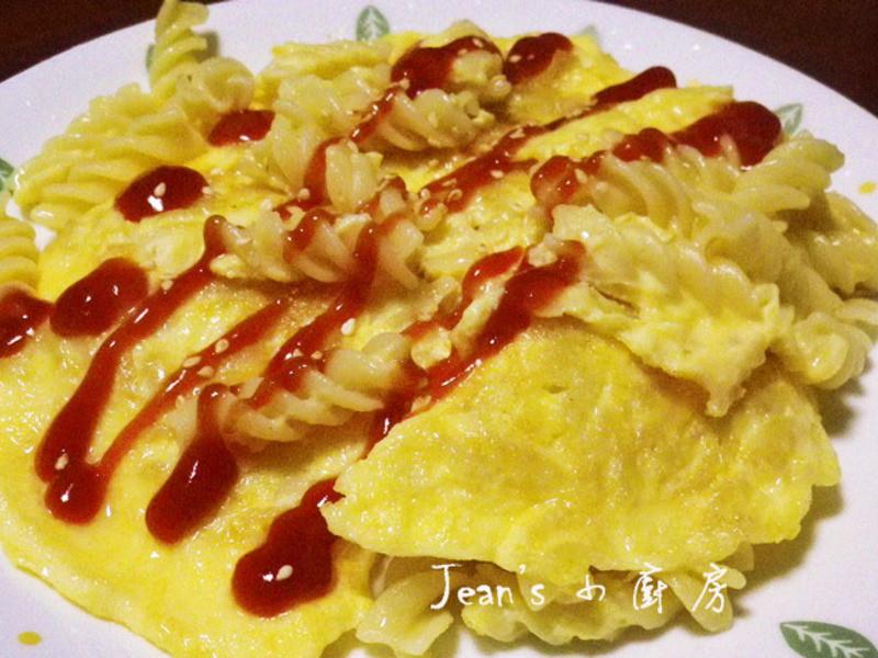 蛋燒義大利麵