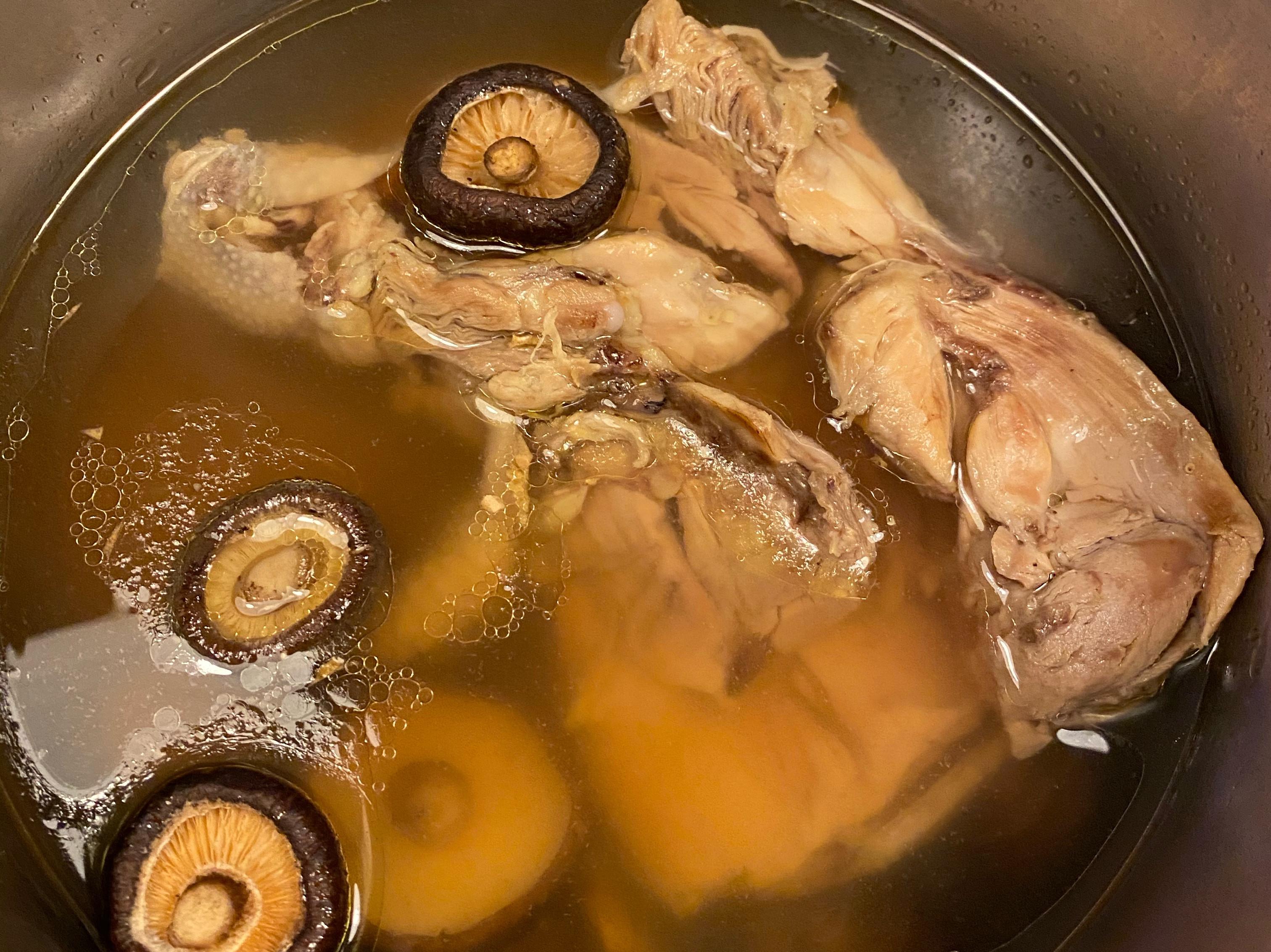 好市多紹興醉雞湯-比泡麵還簡單